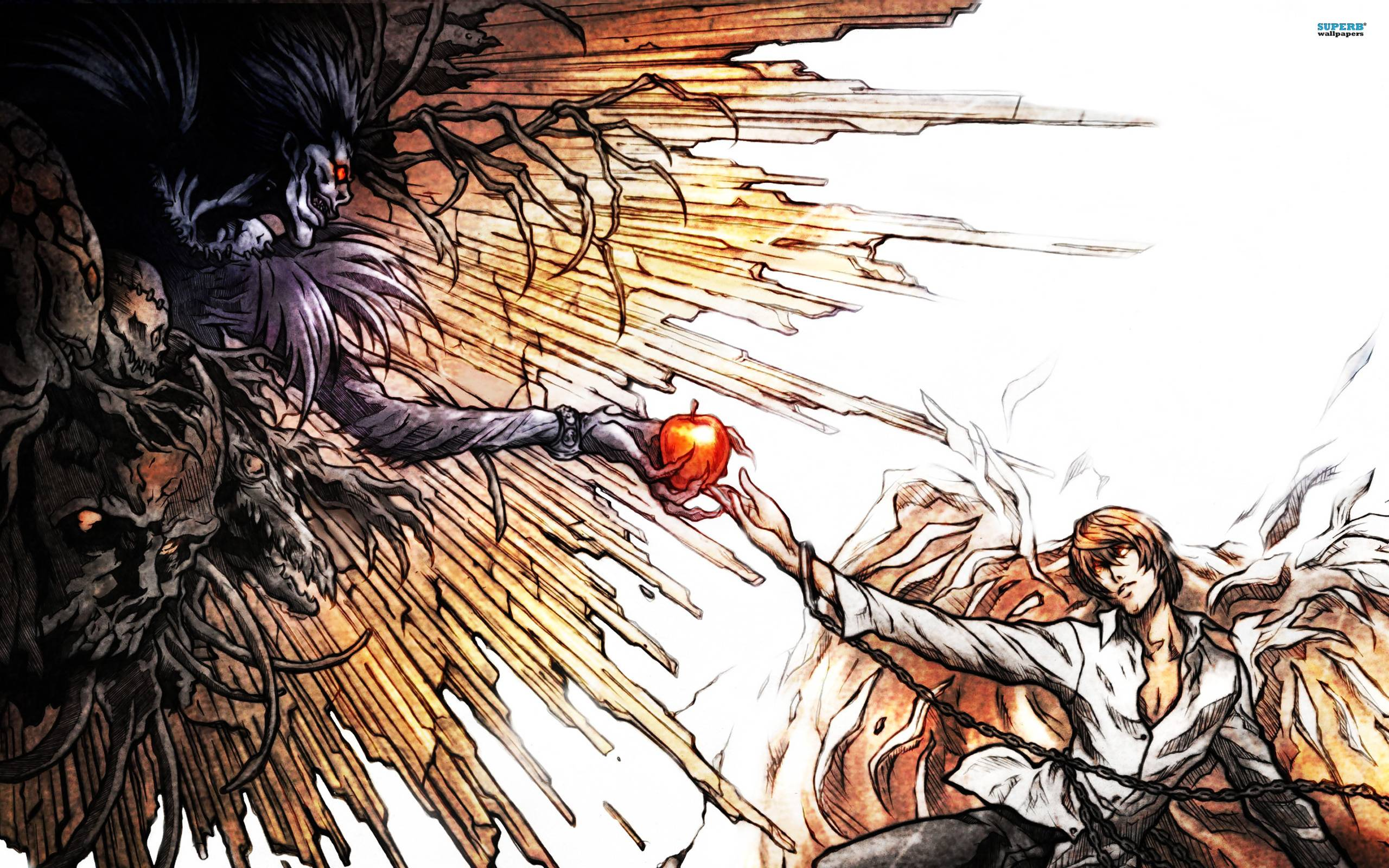 light and ryuk wallpaper - photo #1