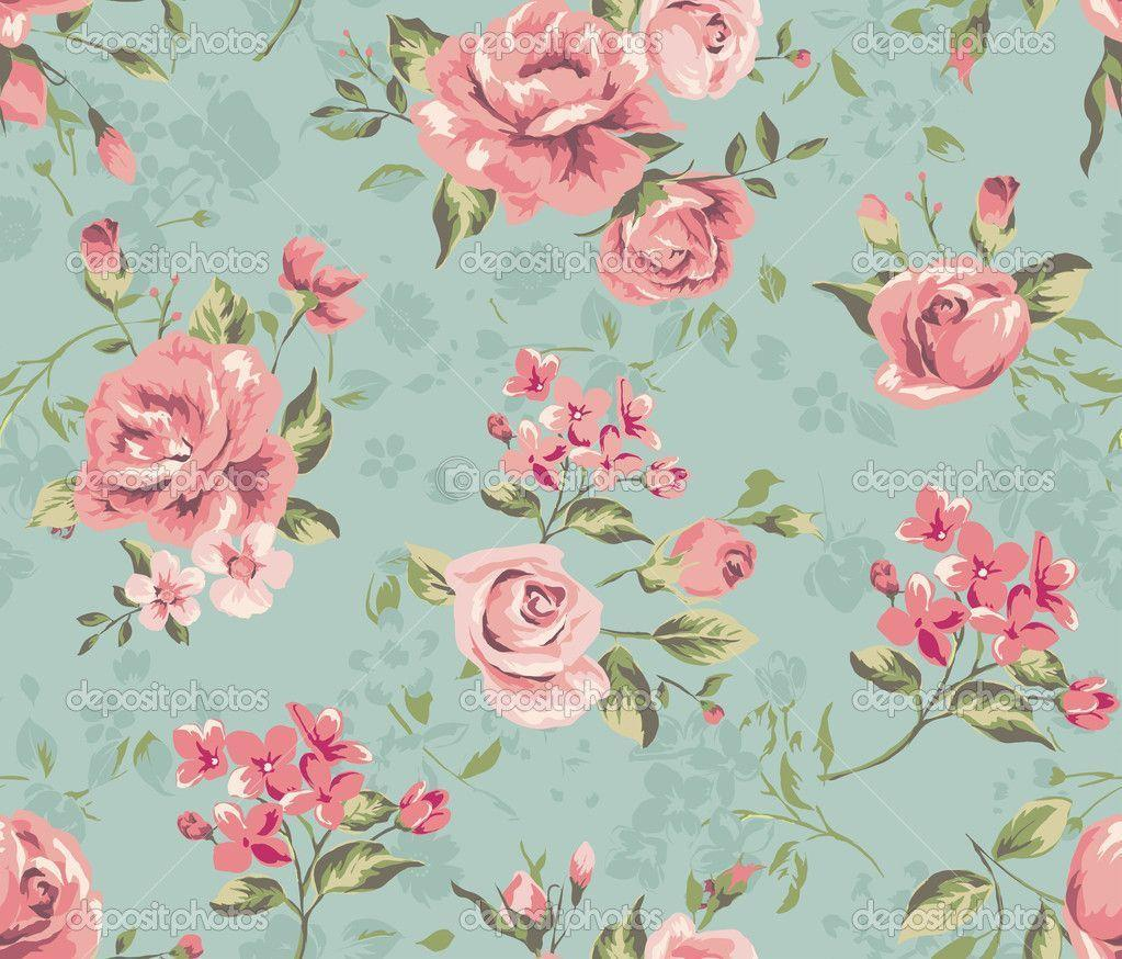 Floral Vintage Backgrounds 4