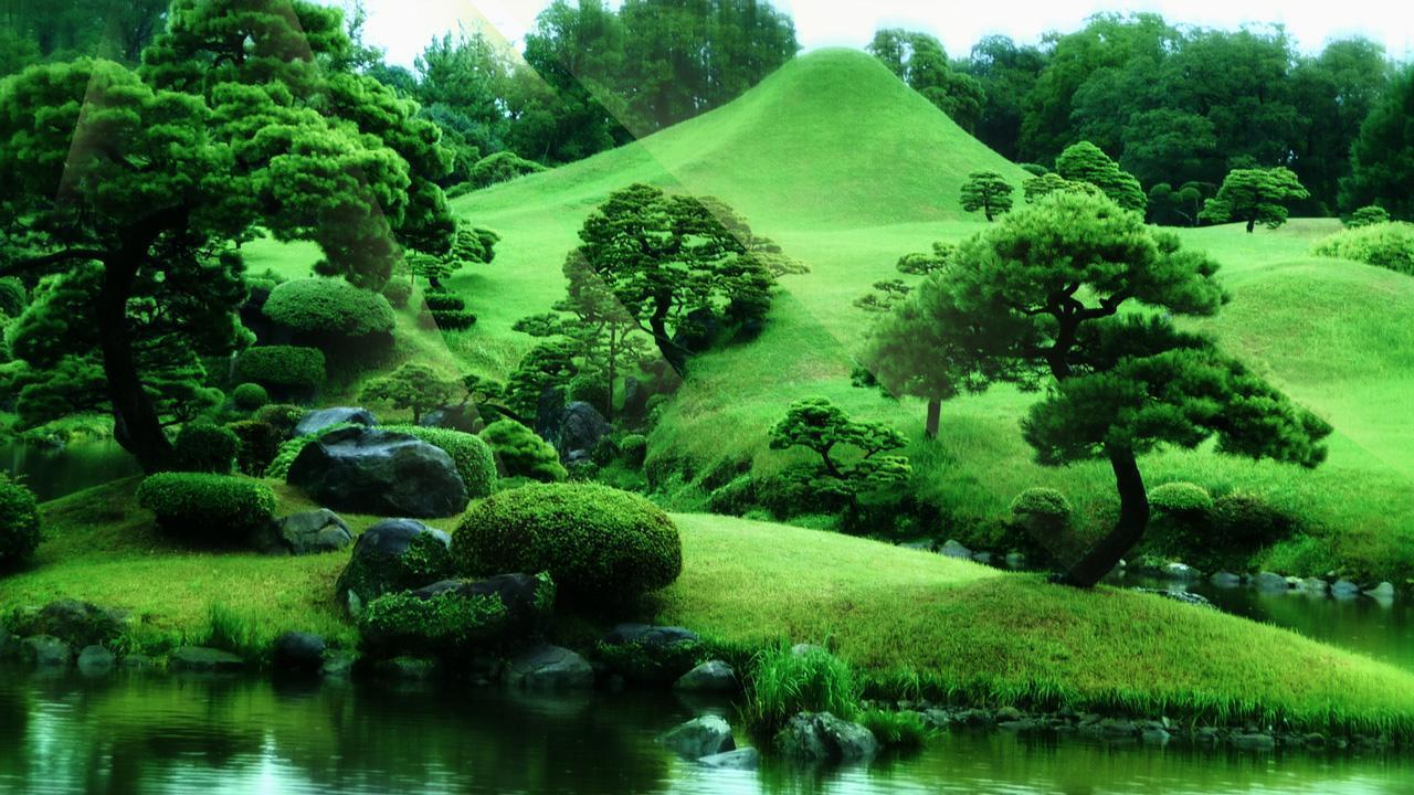 Zen garden wallpapers wallpaper cave for Image jardin zen