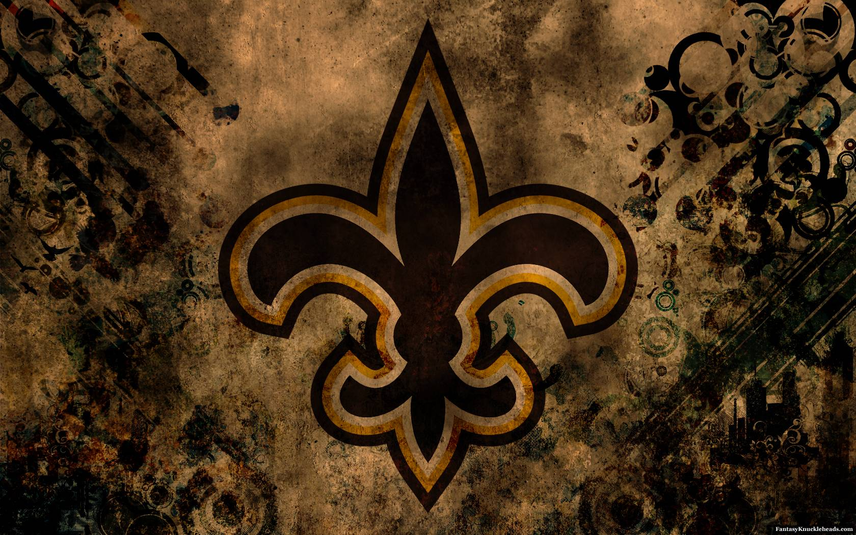 New orleans saints desktop wallpapers wallpaper cave for New cool images