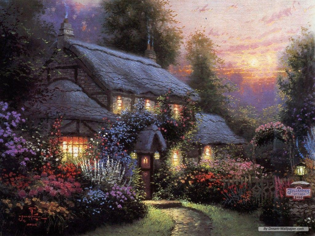 Wallpapers Thomas Kinkade Wallpapers 1024x768 Wallpapers Index 37