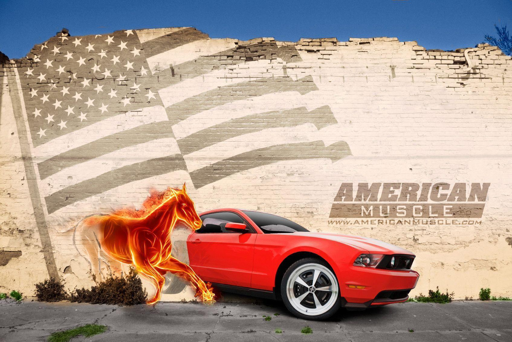 Ford Mustang Wallpapers & Mustang Backgrounds at AmericanMuscle.