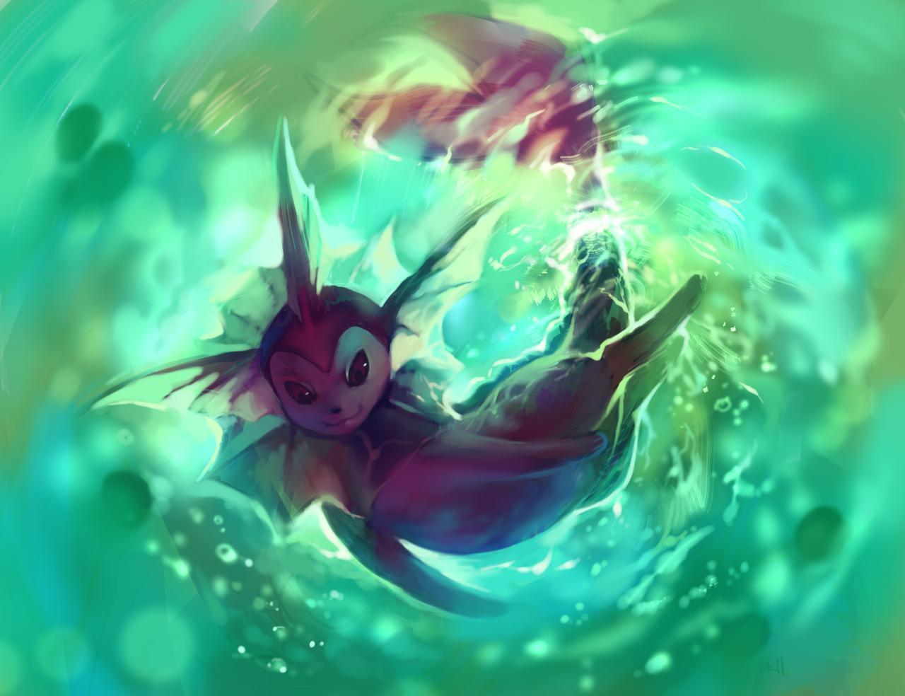 Cool Vaporeon Wallpapers