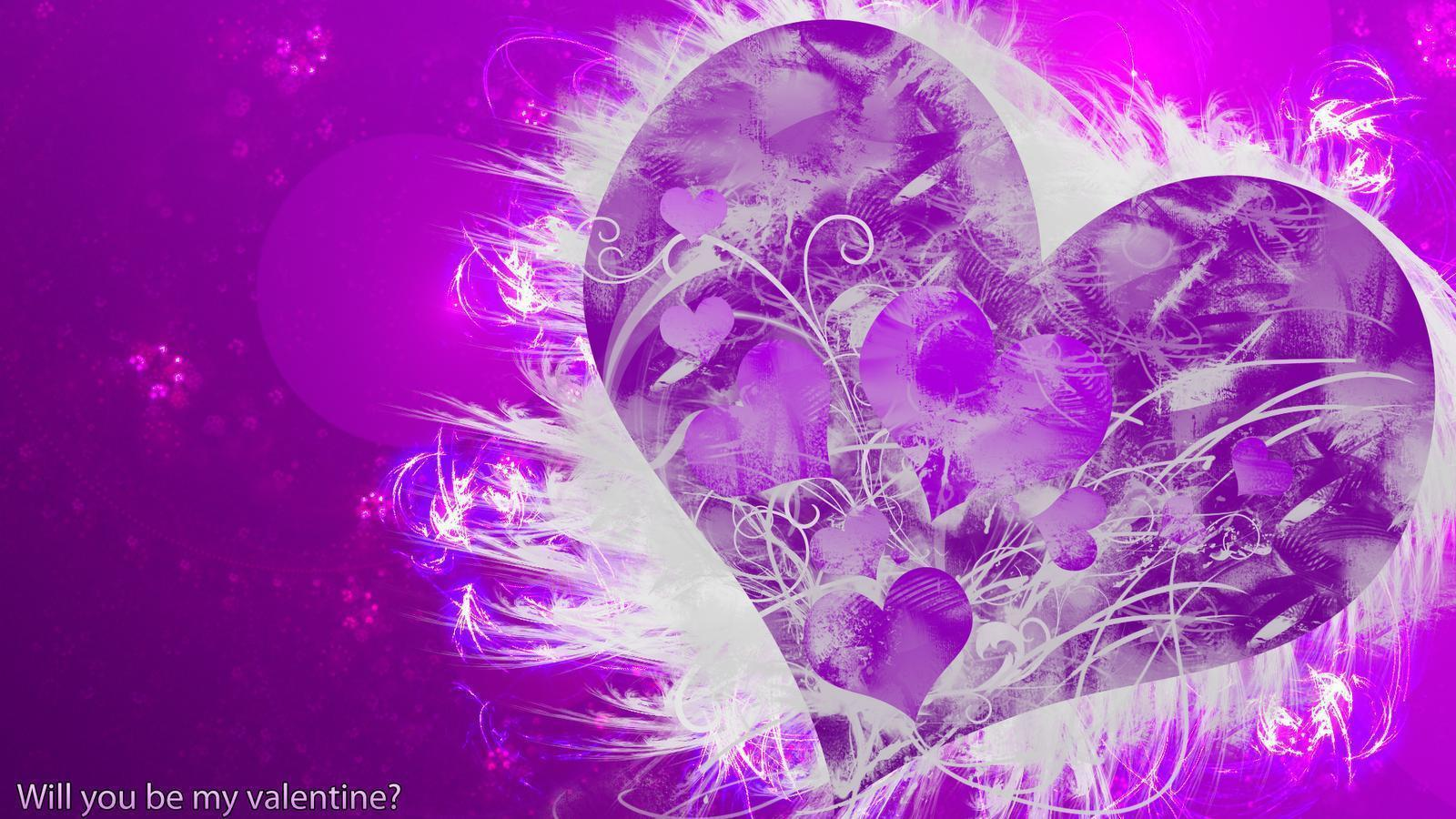 Purple Hearts Wallpapers - Wallpaper Cave