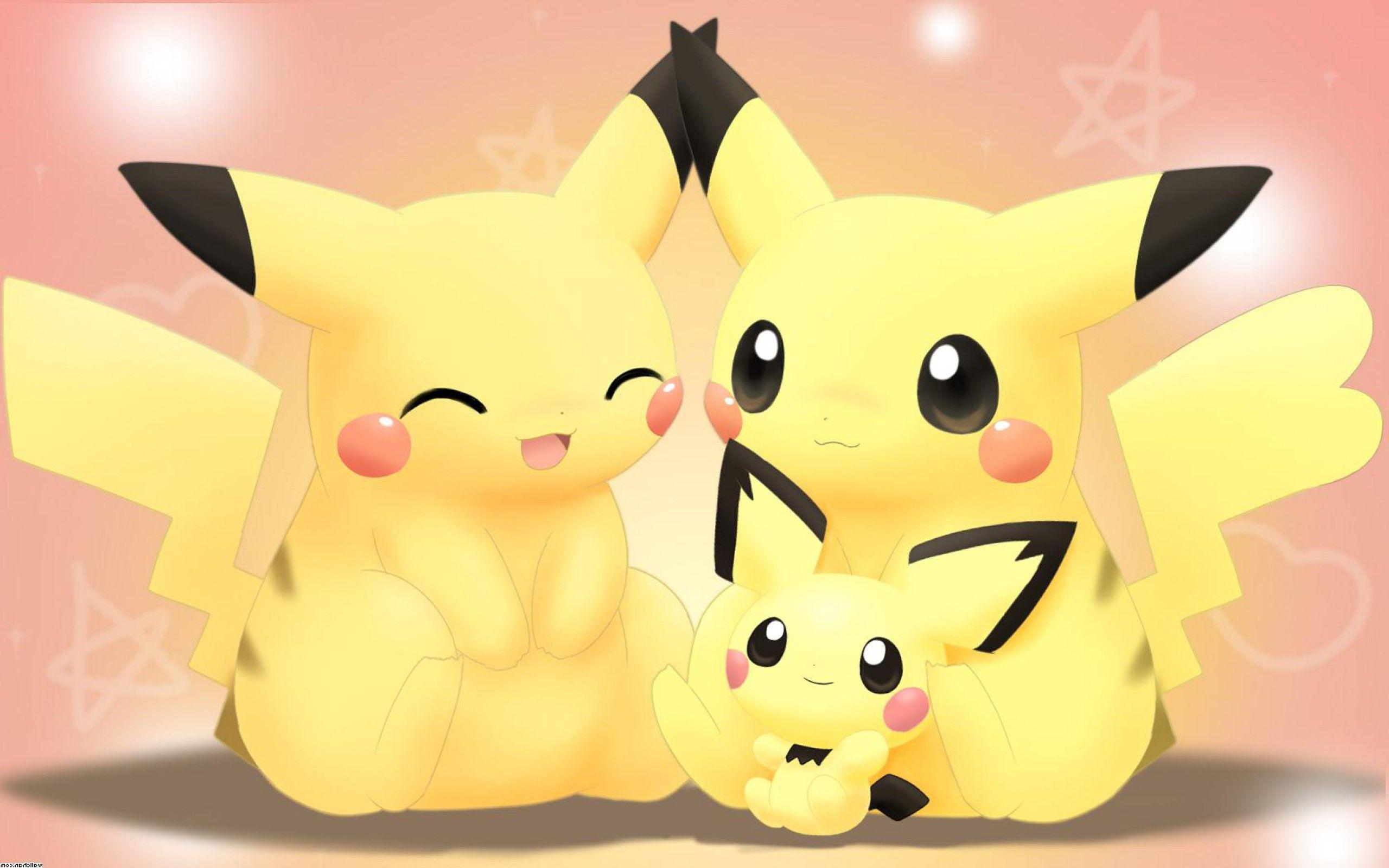 Cute Pikachu Wallpapers