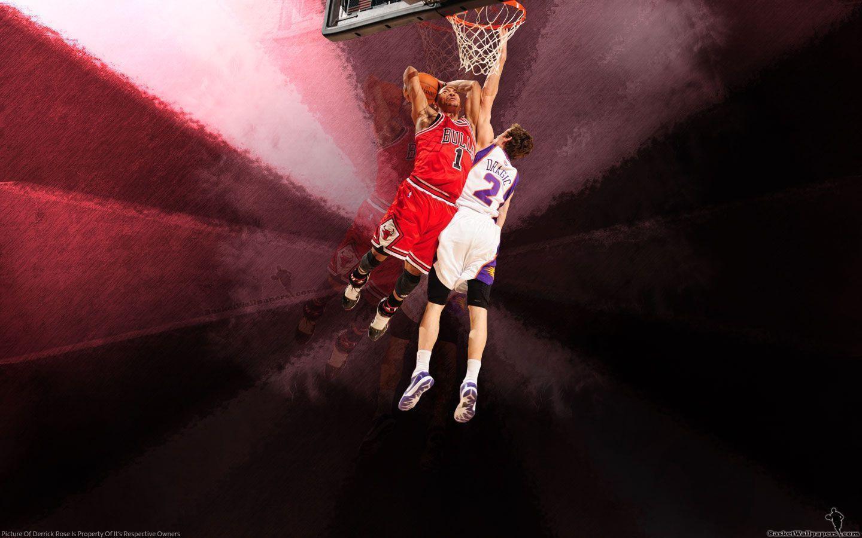 derrick rose wallpaper dunk - photo #25