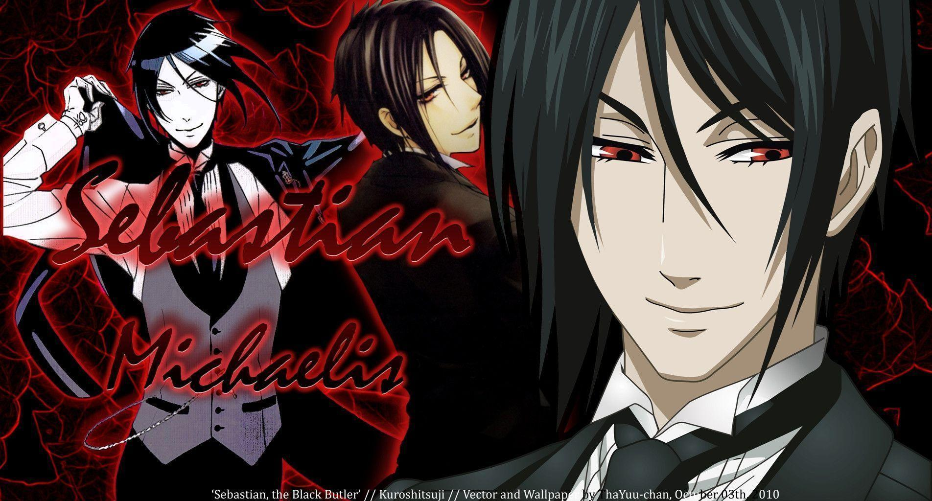 Black Butler Sebastian Wallpapers and Background