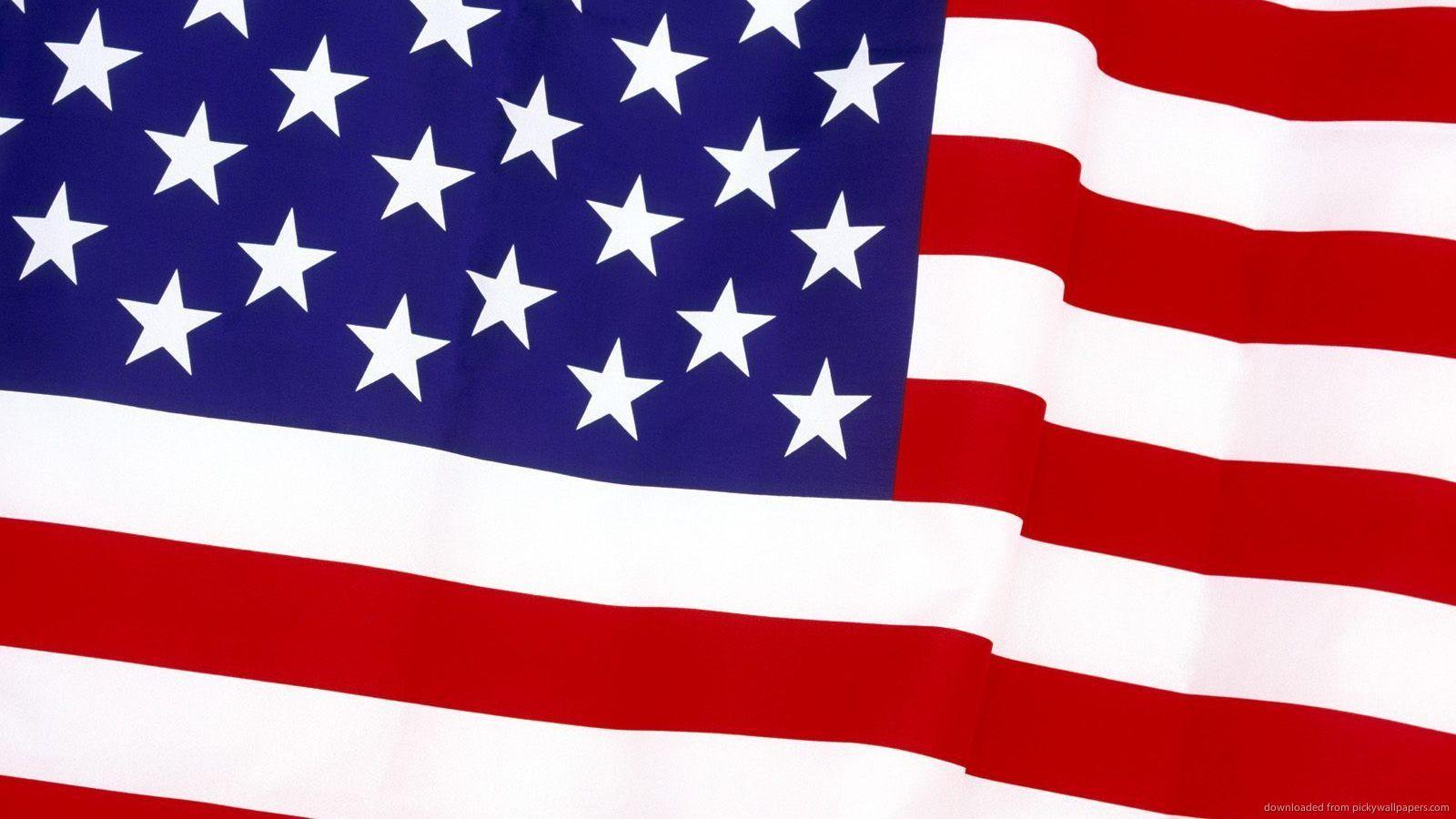 Download 1600x900 USA Flag Wallpaper