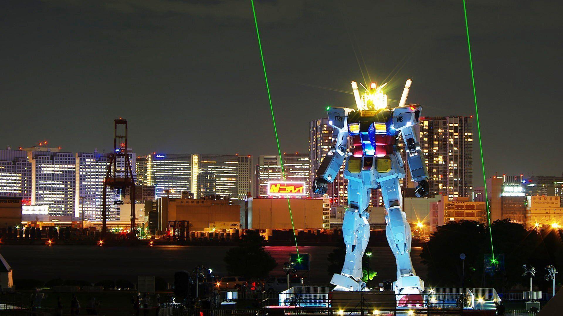 Download Tokyo Gundam Wallpaper 1920x1080 | Wallpoper #281880