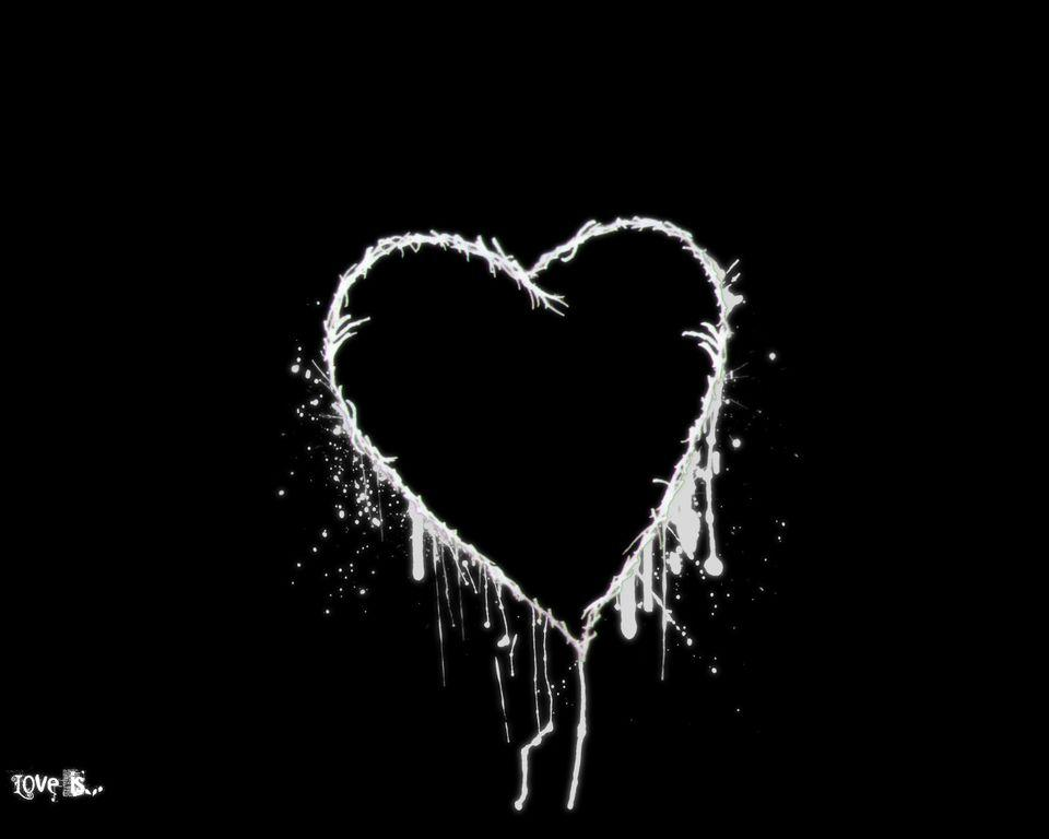 Black And White Heart Wallpapers - Wallpaper Cave