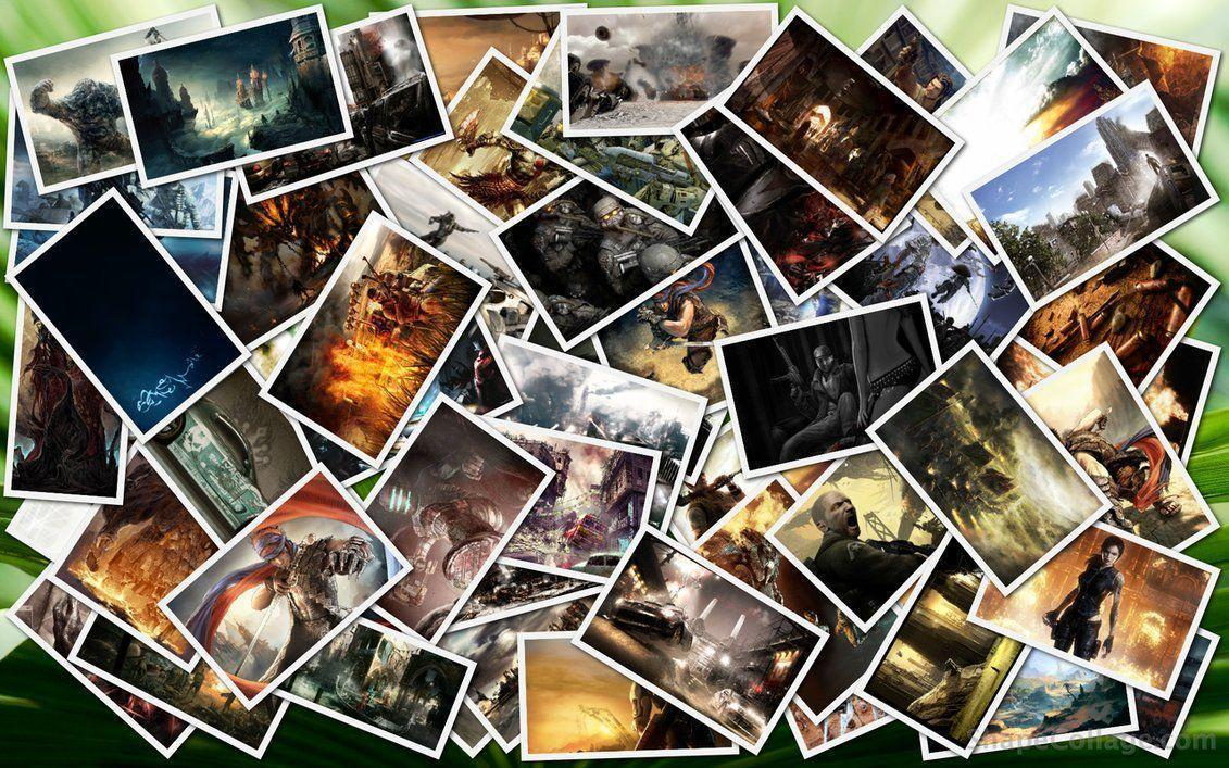 Collage backgrounds wallpaper cave for Best online photo gallery