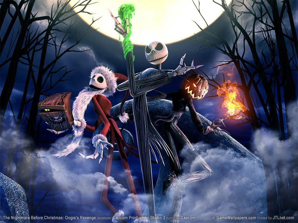 Nightmare Before Christmas Wallpapers HD