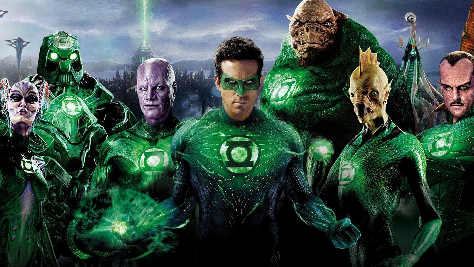 Green Lantern Superheroes Wallpapers