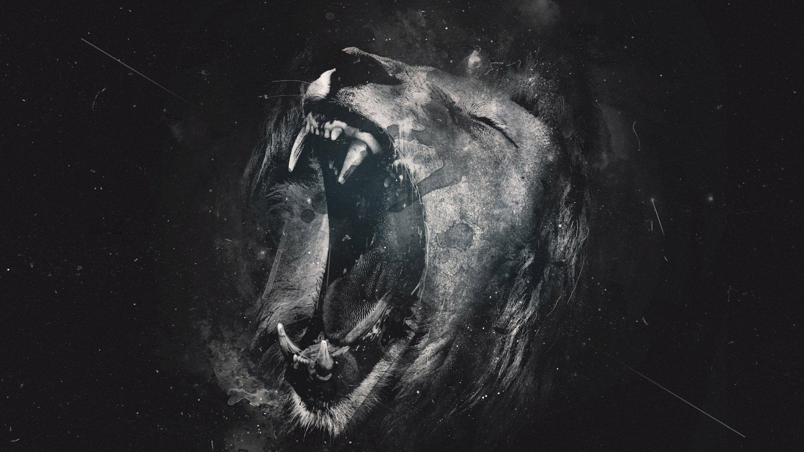 dark gothic lion wallpaper - photo #29