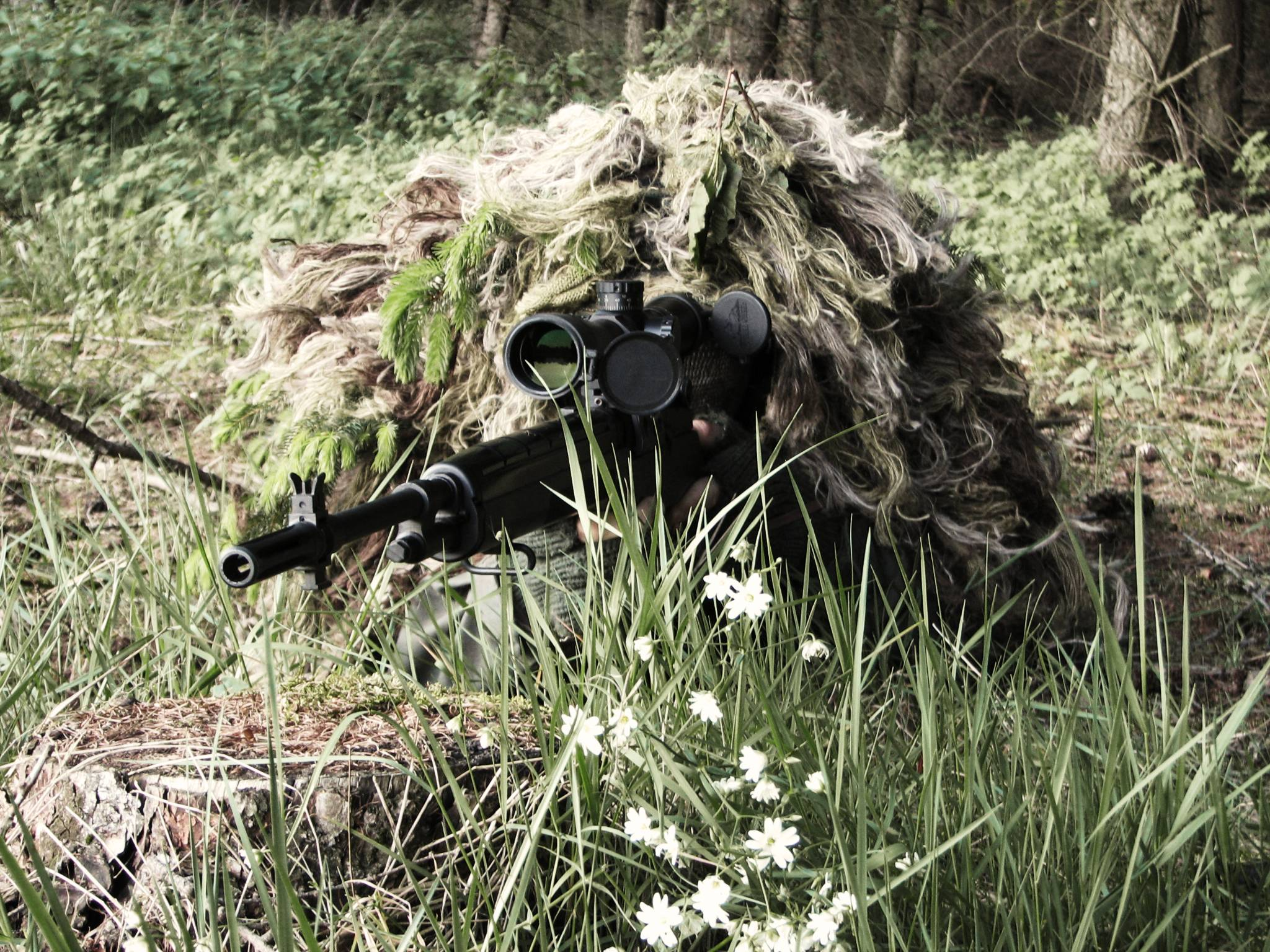 Ghillie Suit Wallpapers