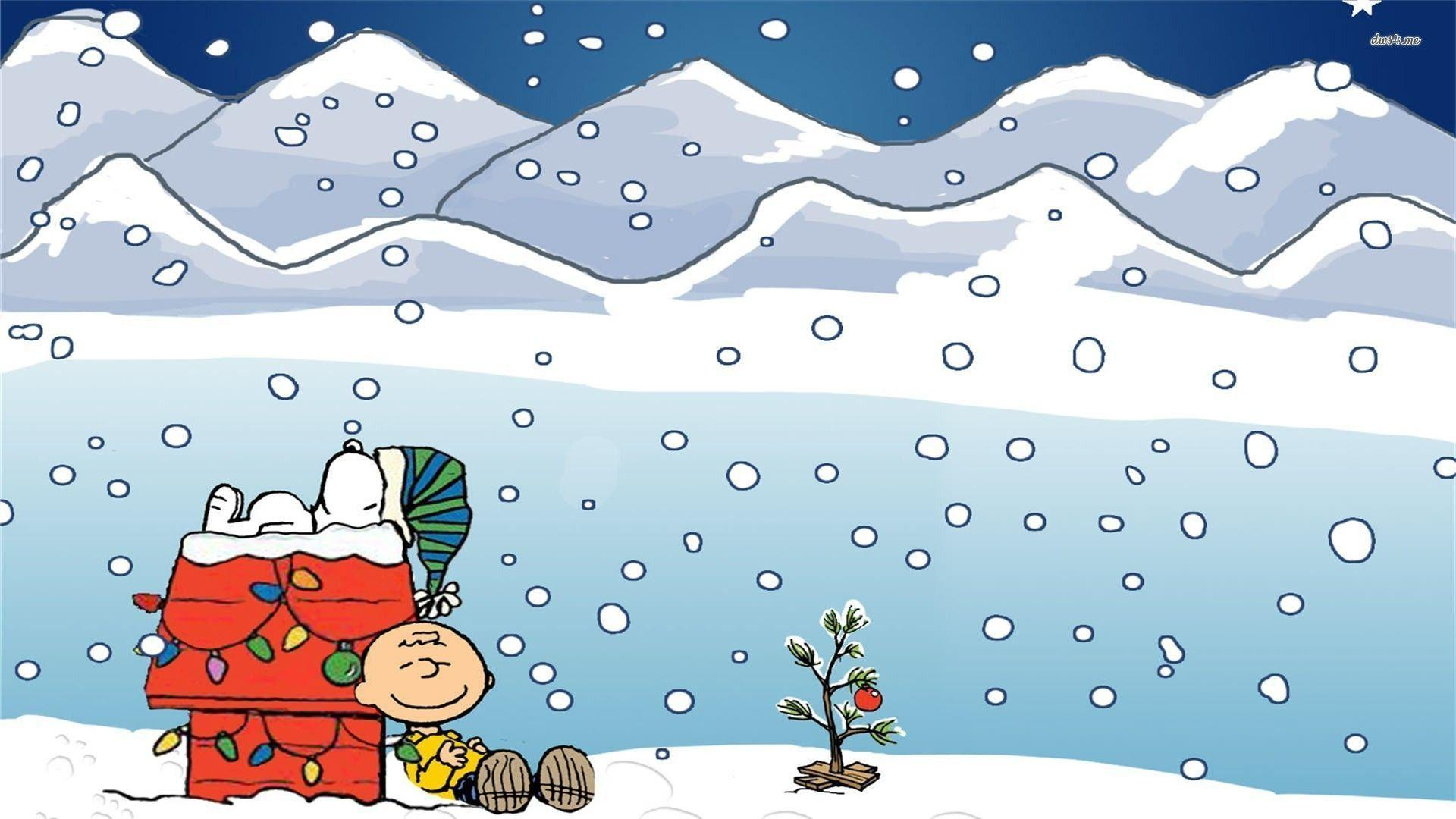 winter wallpaper charlie brown - photo #7