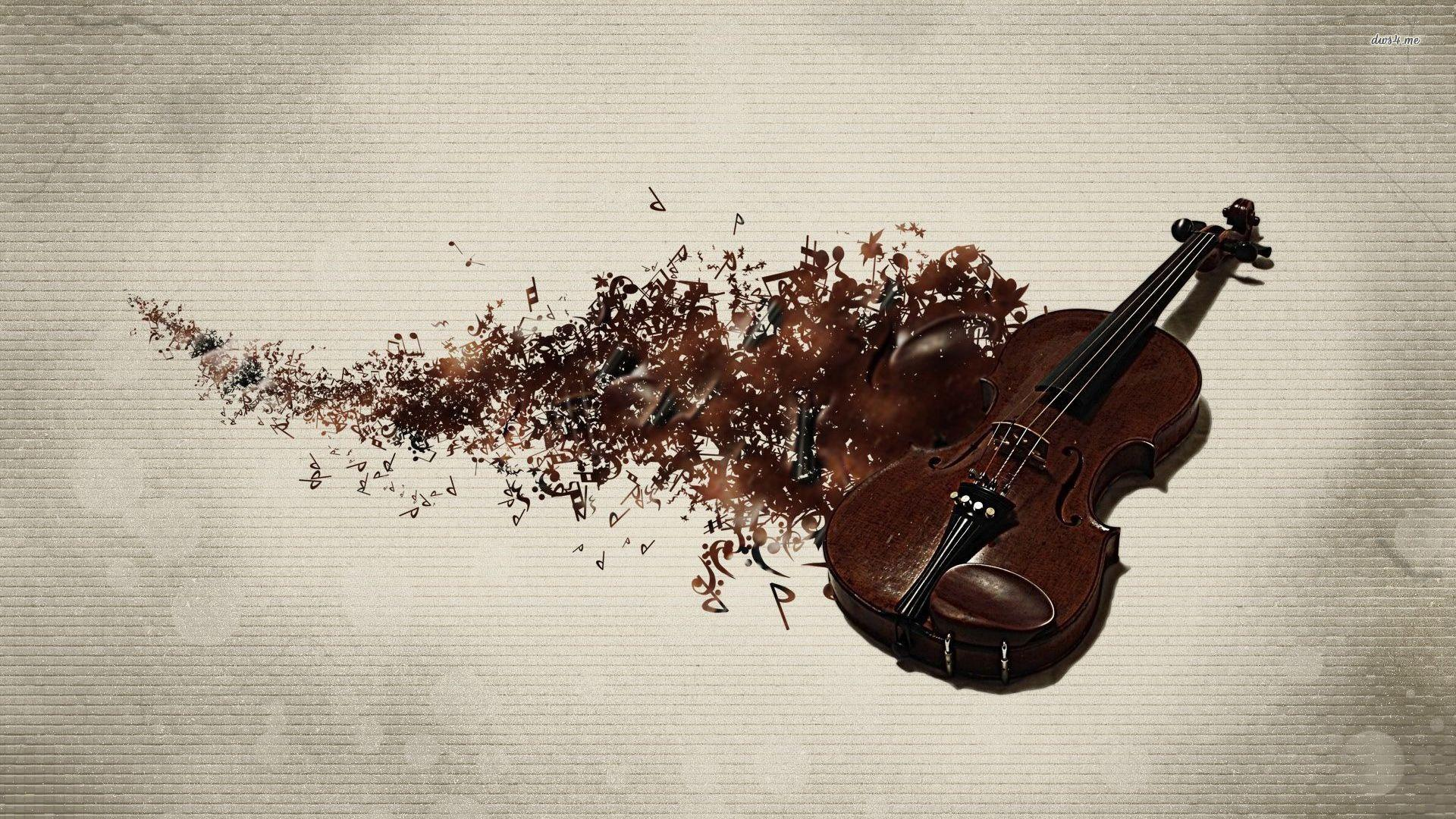 Violin wallpaper - Photography wallpapers - #