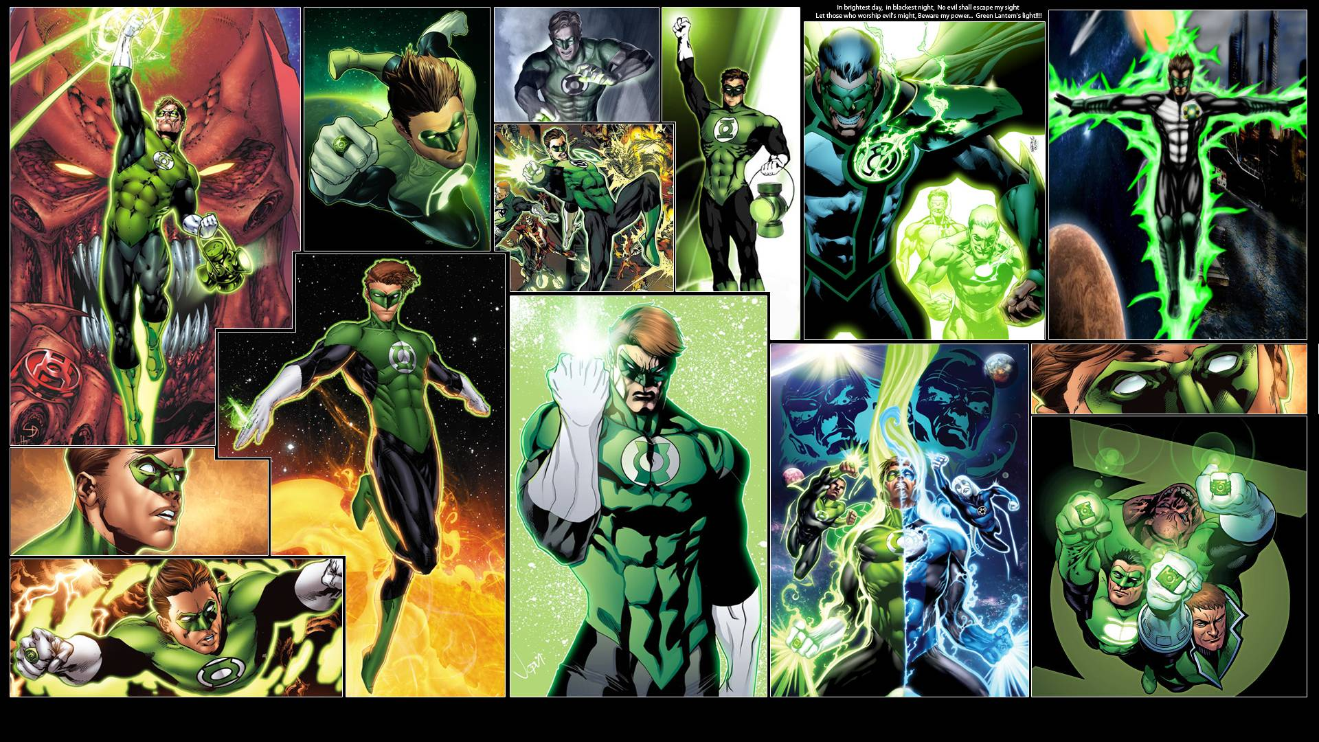 Wallpapers For > Green Lantern Wallpapers 1920x1080
