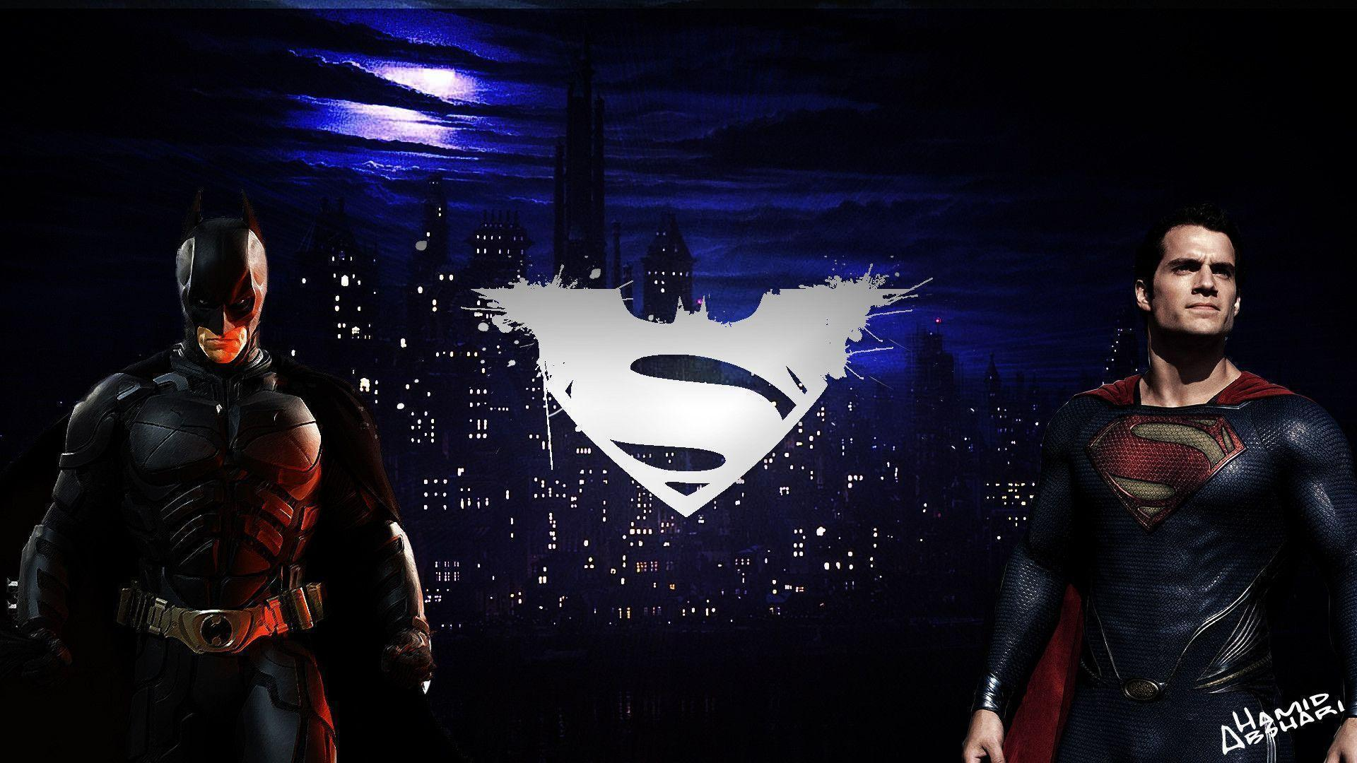 BATMAN VS SUPERMAN [WALLPAPER] by hamidabshari