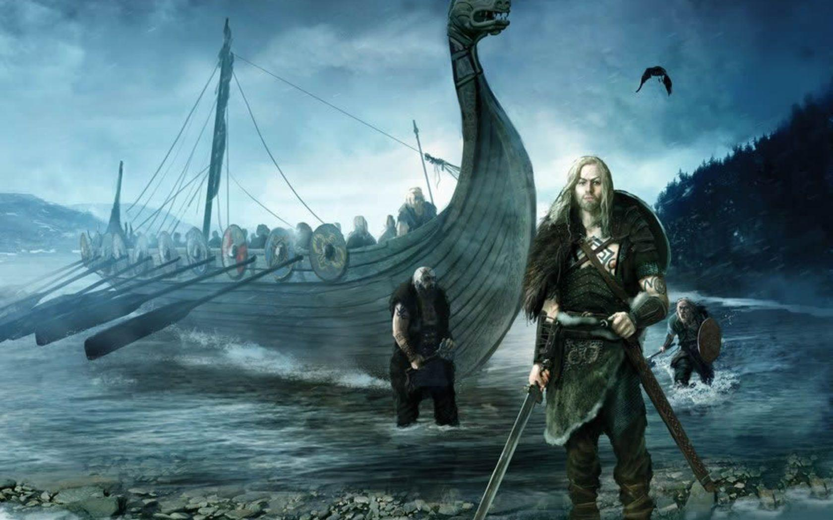 Vikings wallpapers wallpaper cave - Norse mythology 4k wallpaper ...