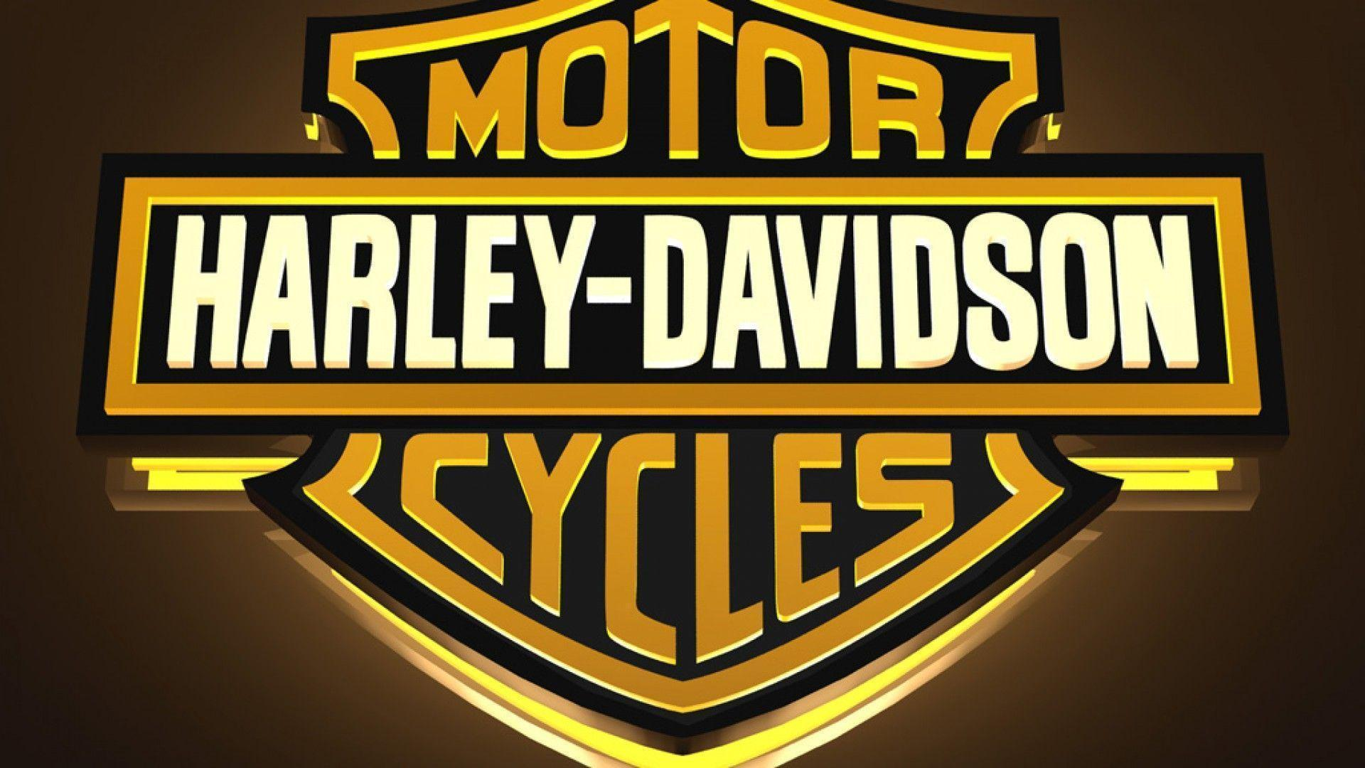 newest harley davidson logo wallpapers - photo #24