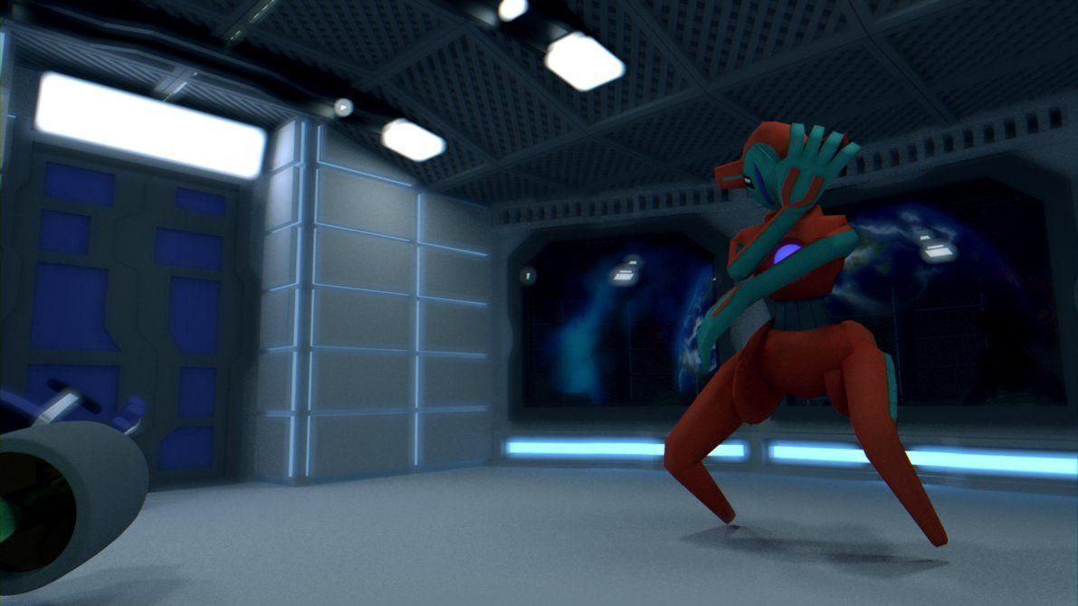 Deoxys - Bad Move [HD WALLPAPER] [3D MODEL] by TheModerator on ...