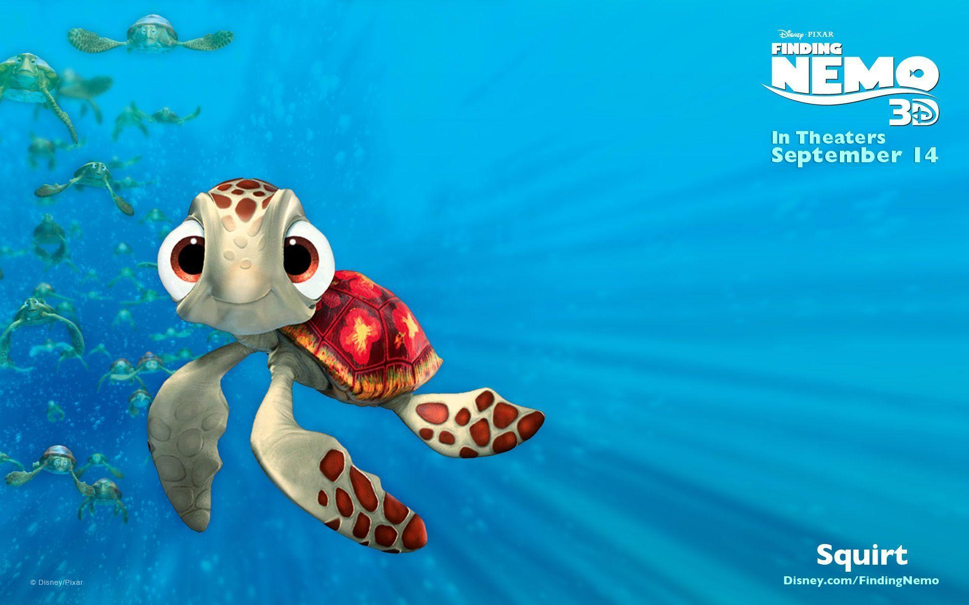 Image For > Finding Nemo Wallpapers 3d