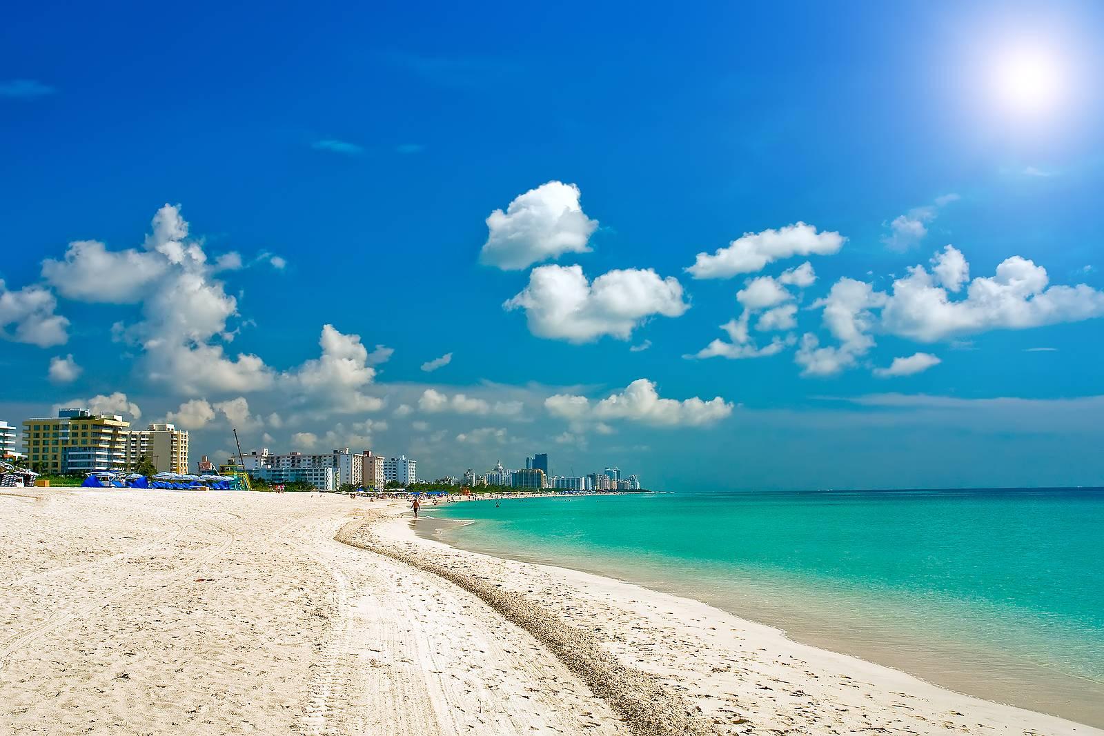 South Beach Miami Wallpaper Wide