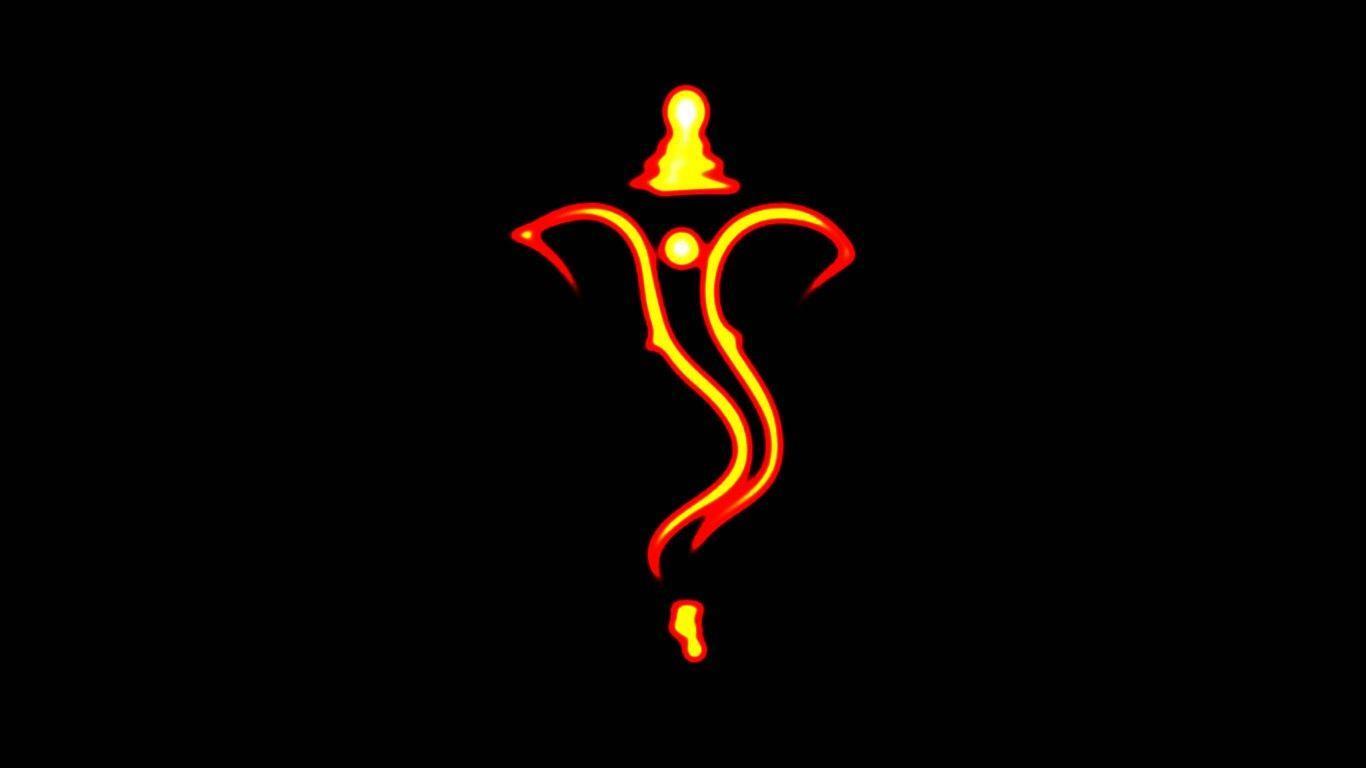 Hd wallpaper ganesh - Happy Ganesh Chaturthi Black Background Hd Images Hd Wallpapers