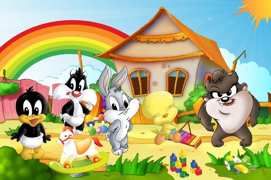 Baby looney tunes wallpapers wallpaper cave - Looney tunes background ...