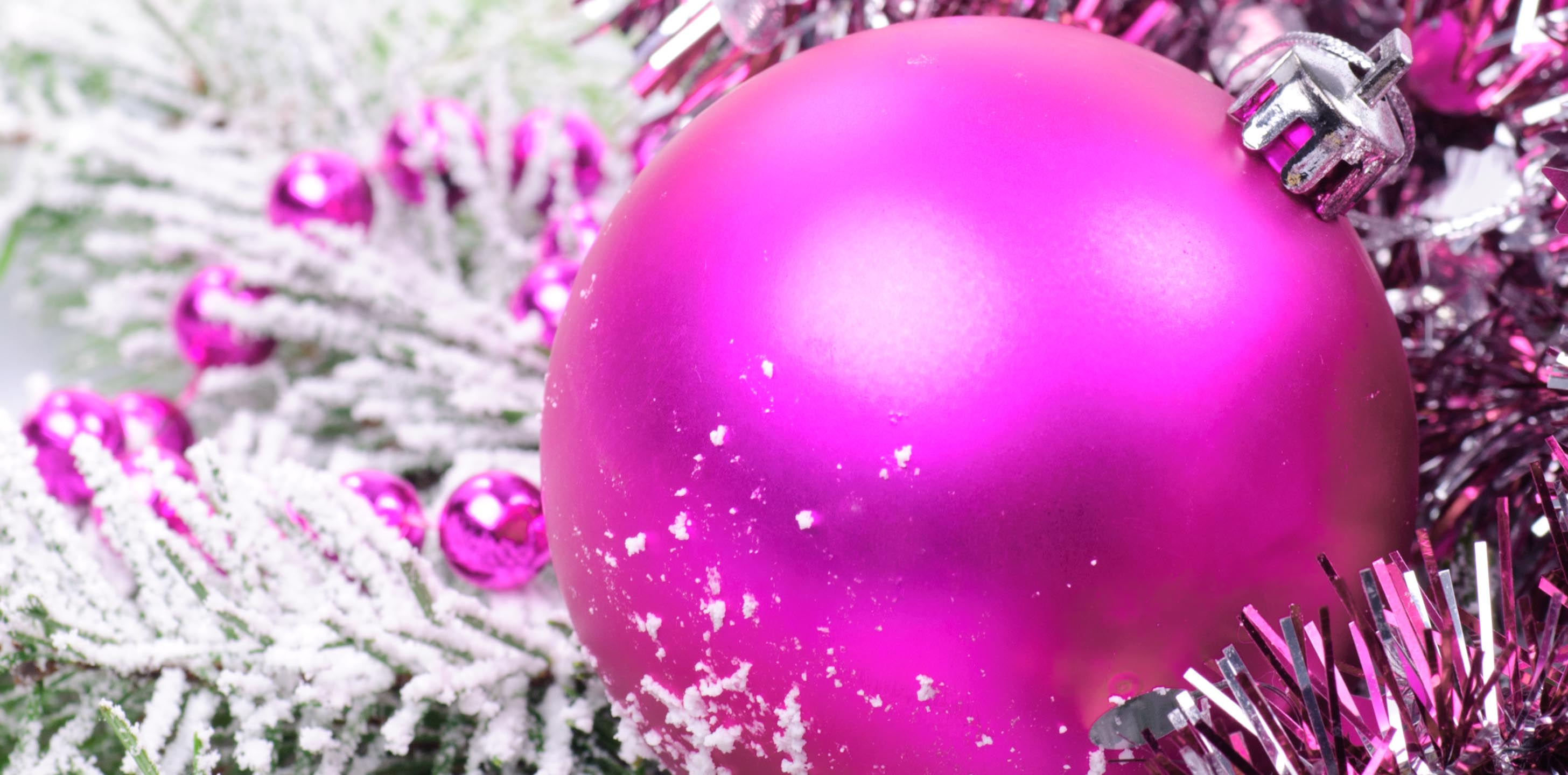 Pink Christmas Wallpapers - Wallpaper Cave