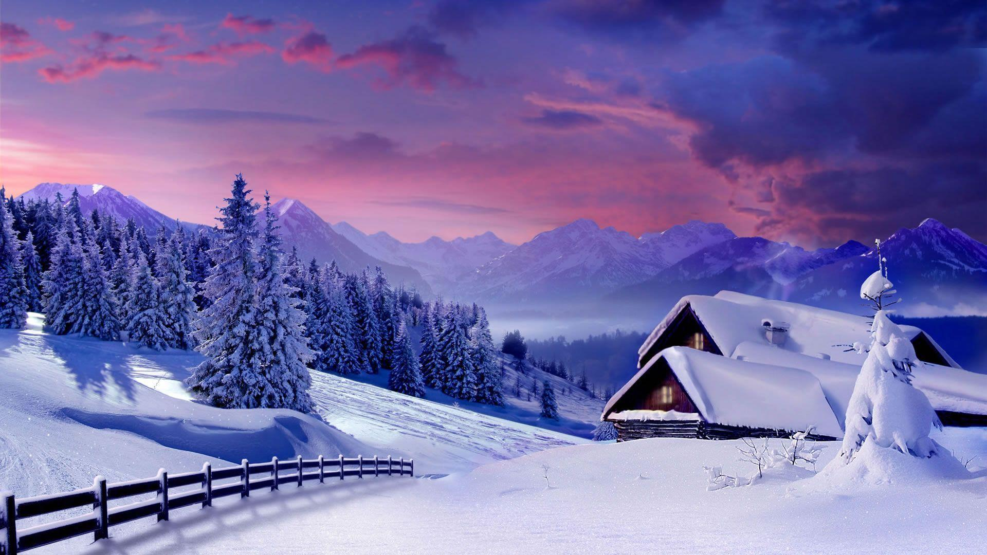 Winter Wallpaper 1920X1080 Hd 37466 Hd Wallpapers in Nature ...