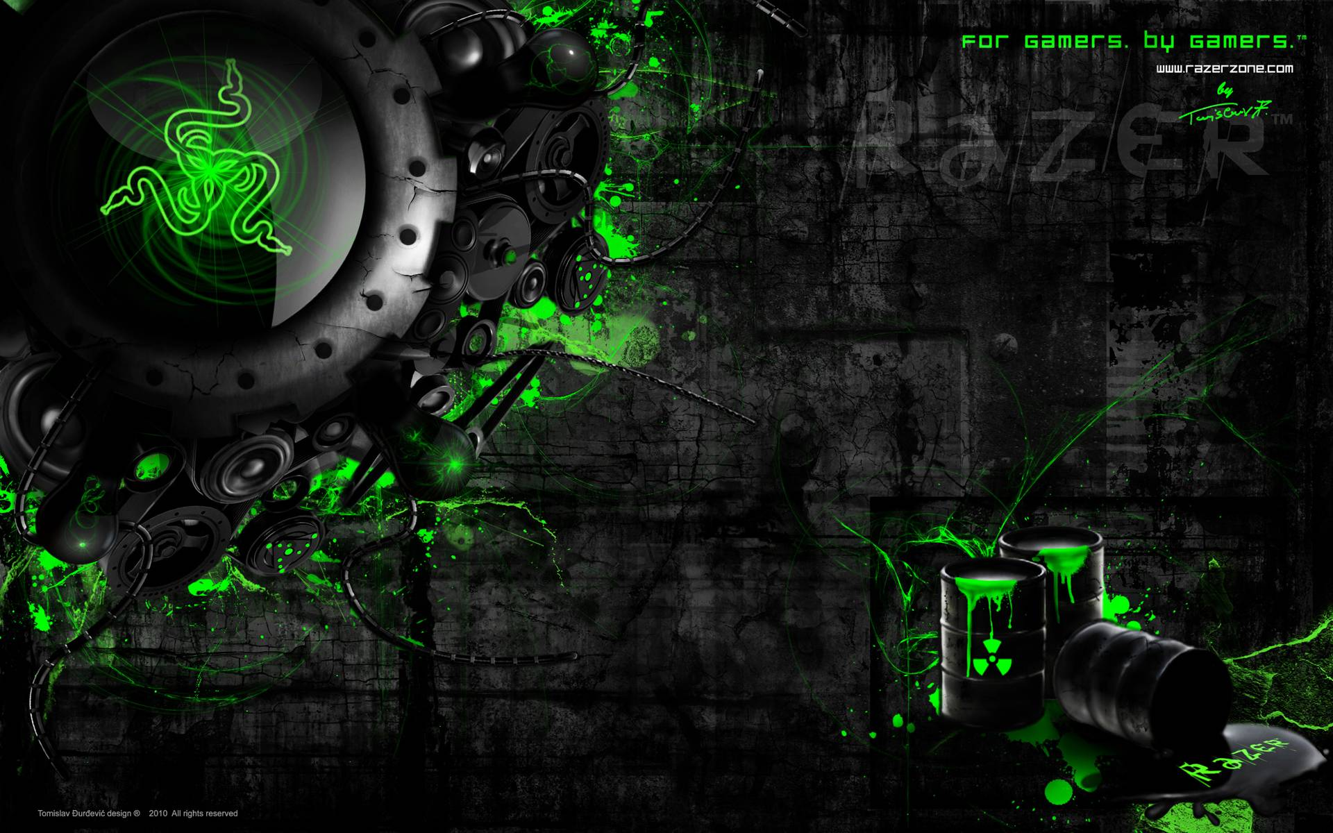 10 Best Gaming Wallpaper Hd 1920x1080 Full Hd 1080p For Pc: Razer Wallpapers 1920x1080