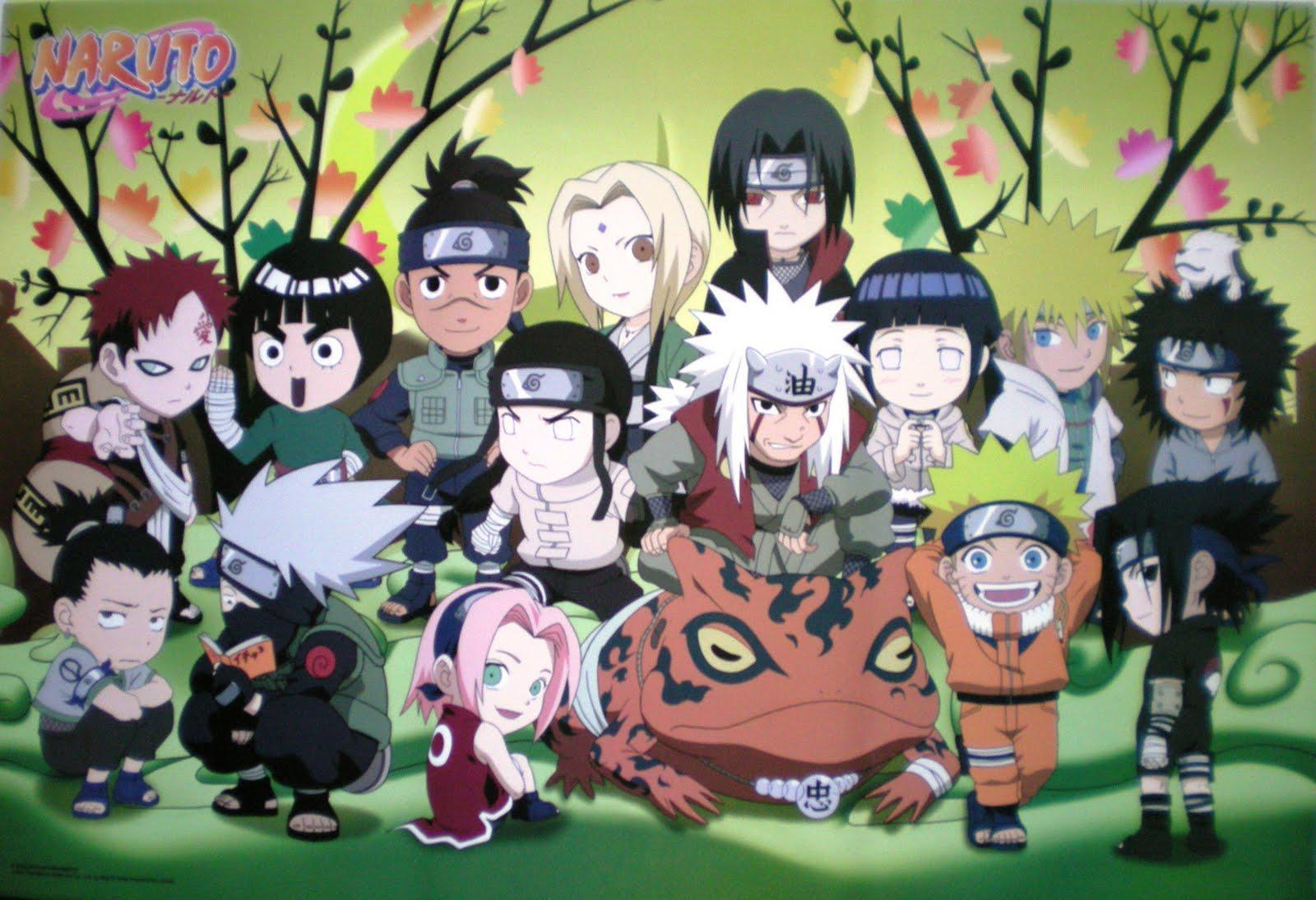 Wallpapers For > Naruto Chibi Wallpaper