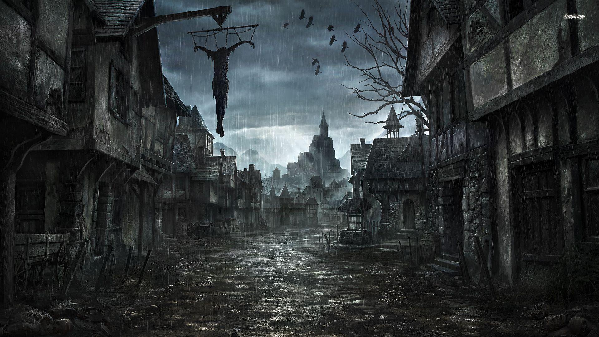Scary Halloween Desktop Wallpapers - Wallpaper Cave