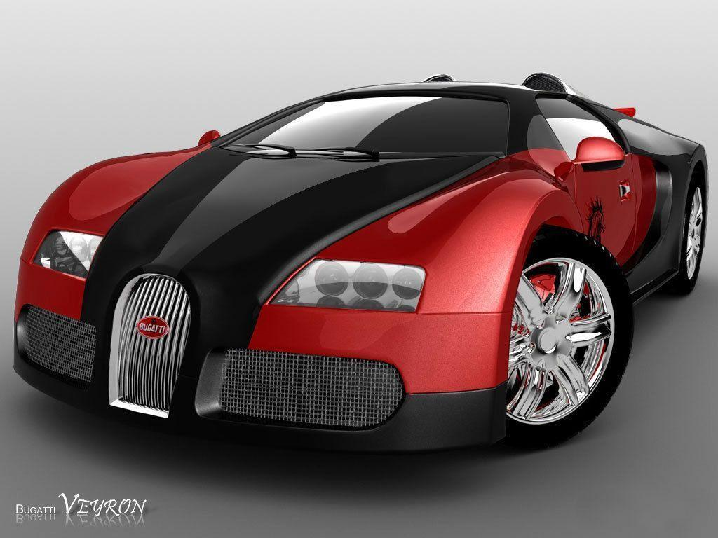 Wallpapers For > Red And Black Bugatti Veyron Wallpaper