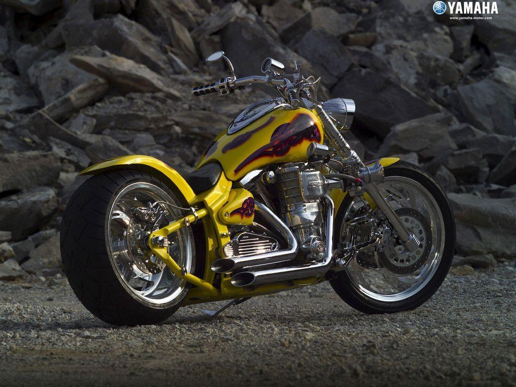 Download Free Cool Yellow Motorcycle Wallpaper  HD Wallpapers