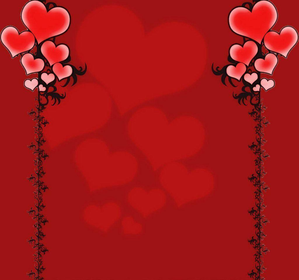 Love Wallpaper Black Background : Red Love Heart Backgrounds - Wallpaper cave