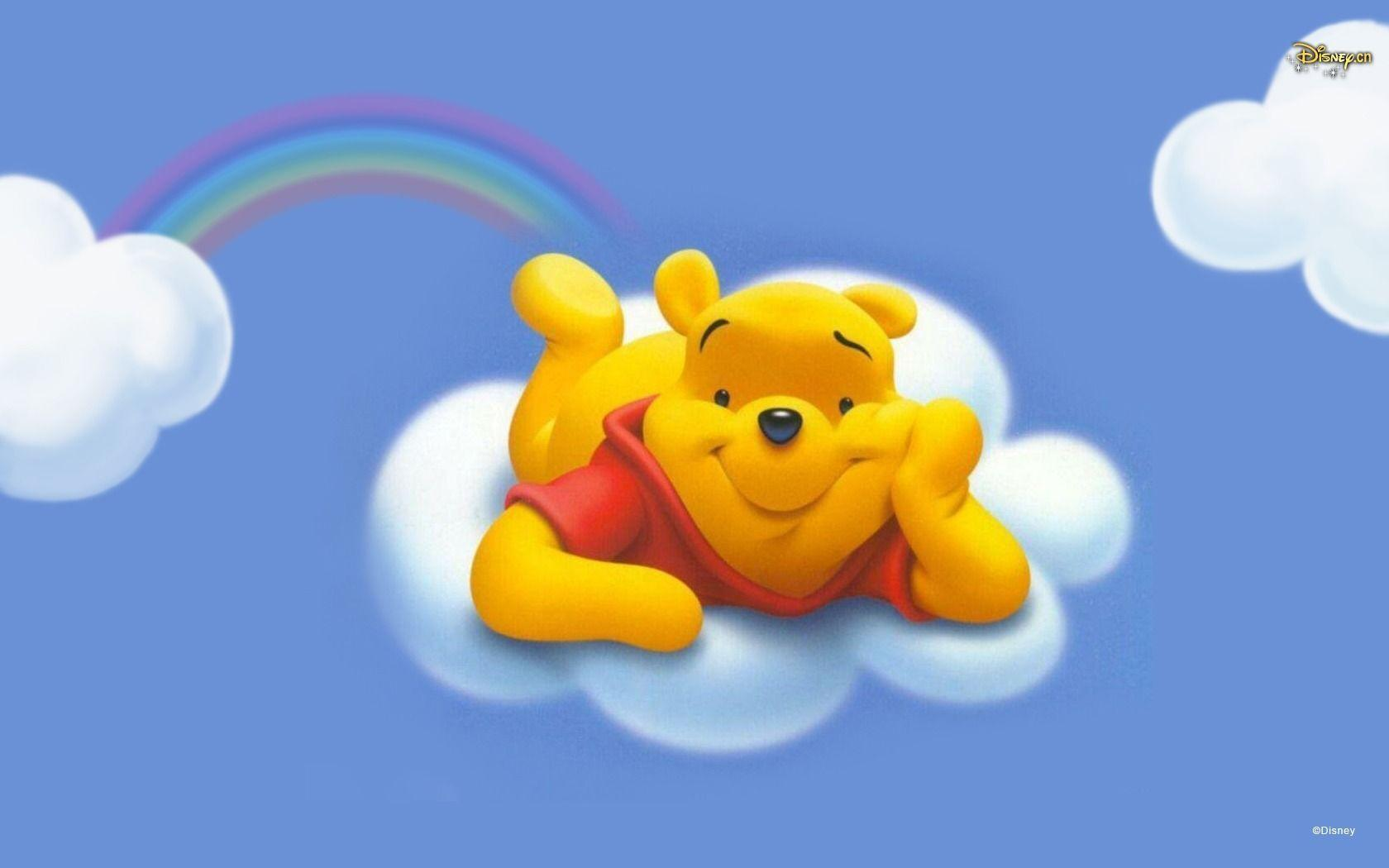 Winnie The Pooh In The Sky Wallpaper Cartoons #11414 Wallpaper ...