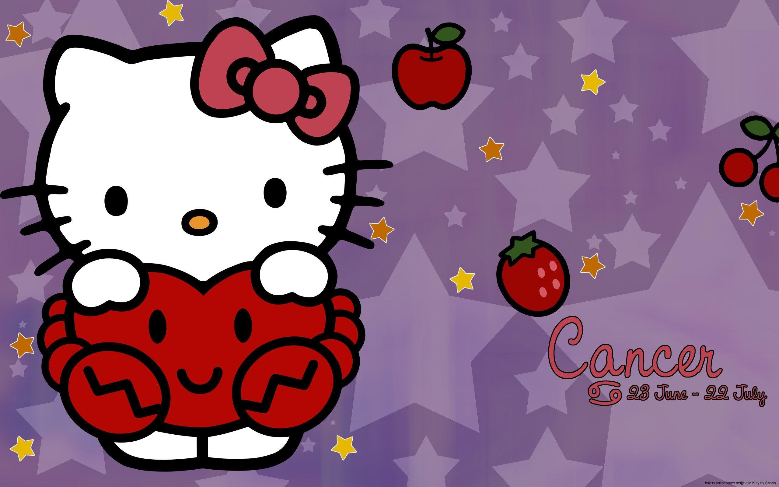 Hello Kitty Thanksgiving Wallpapers Wallpaper Cave
