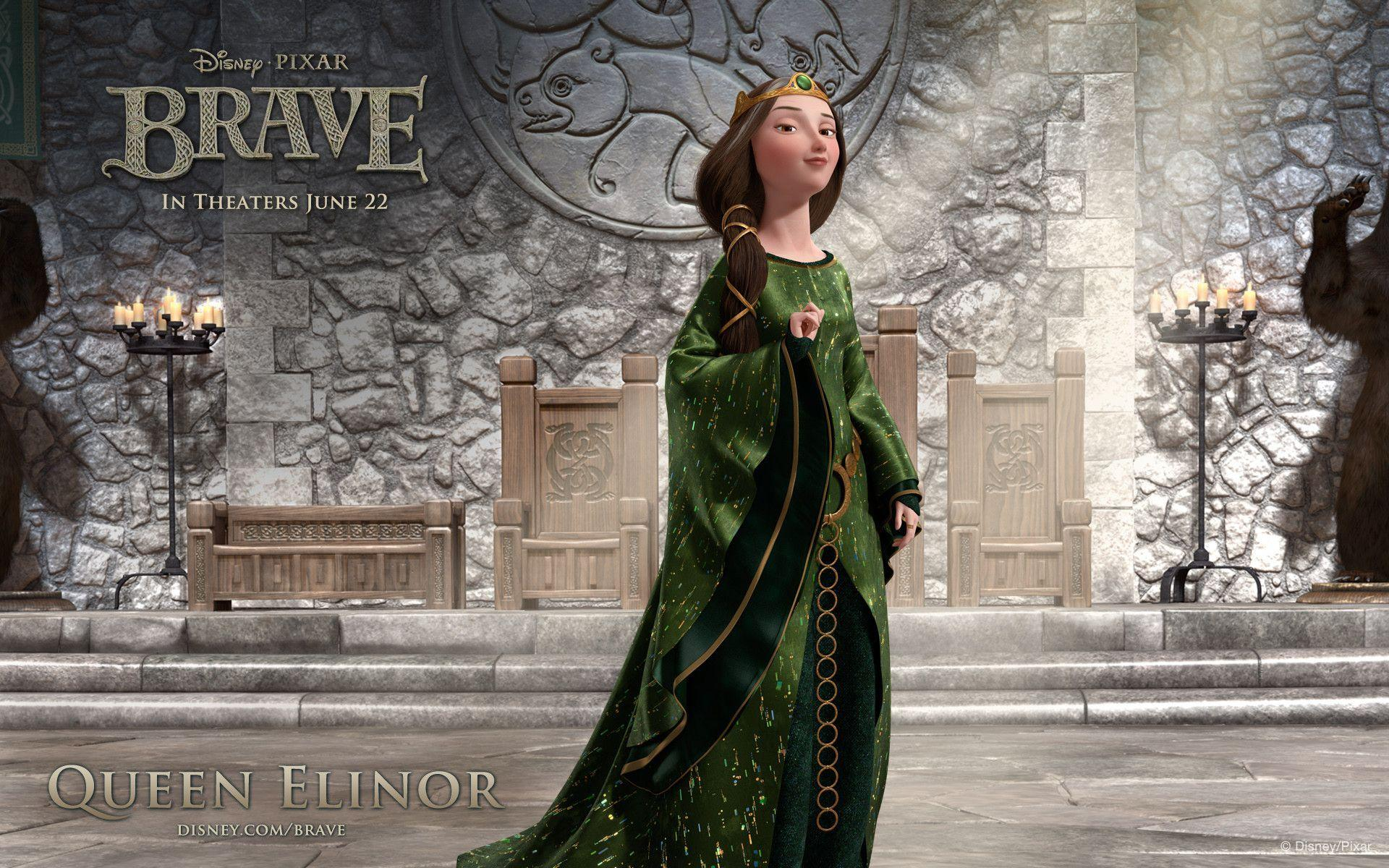 Brave Queen Elinor Wallpapers