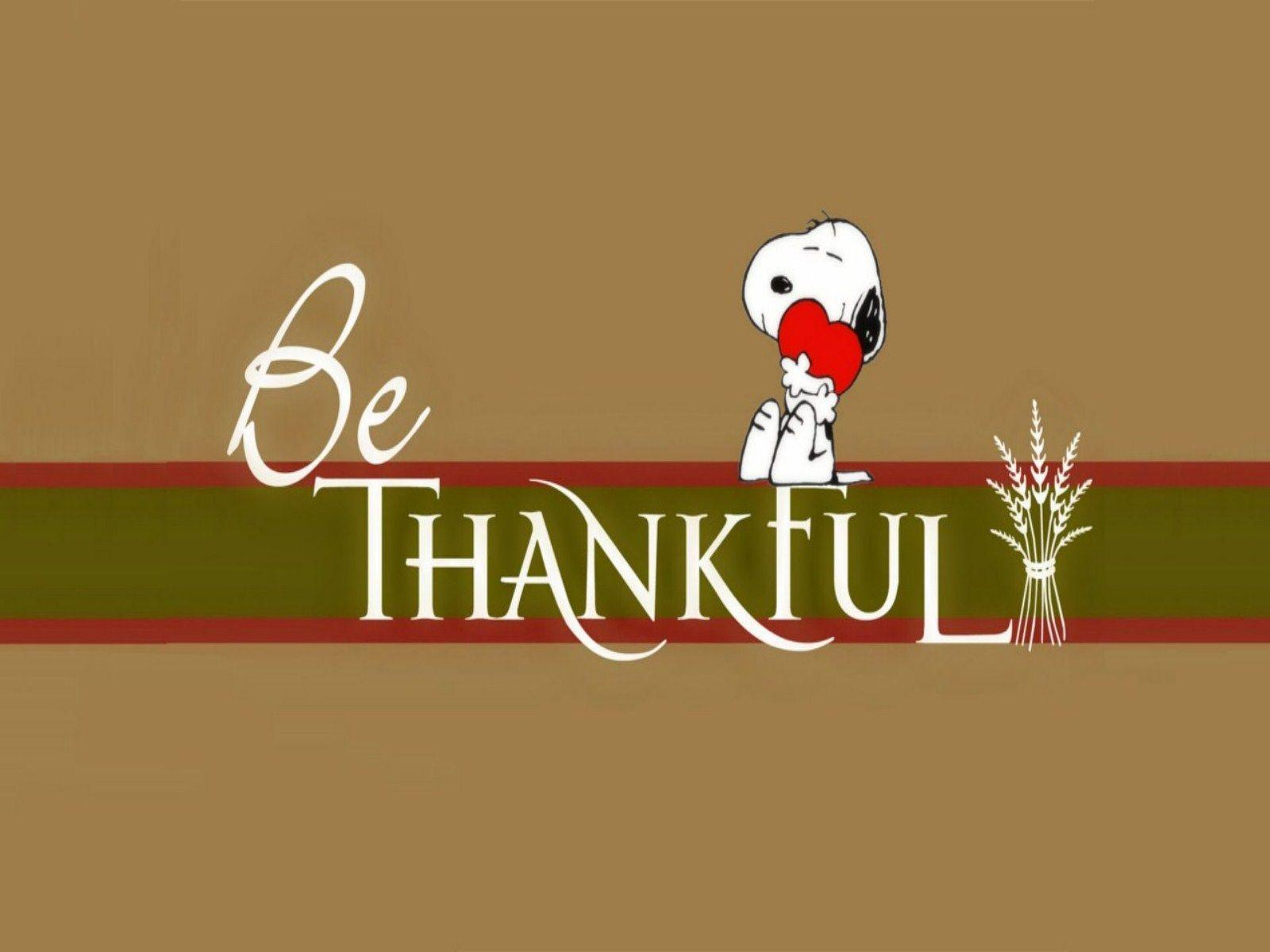 Snoopy Thanksgiving Wallpaper | Free Internet Pictures