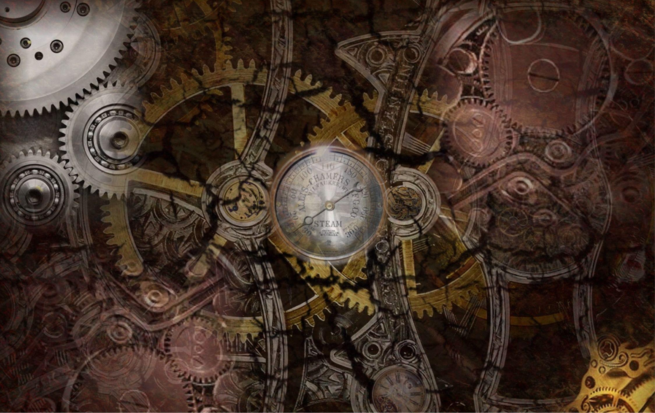 Wallpapers For > Dark Steampunk Backgrounds