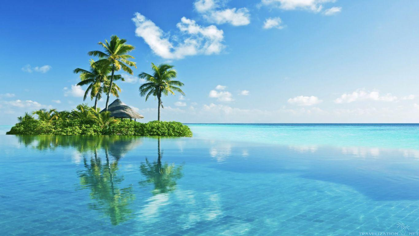 Hd Tropical Island Beach Paradise Wallpapers And Backgrounds: Tropical Island Backgrounds