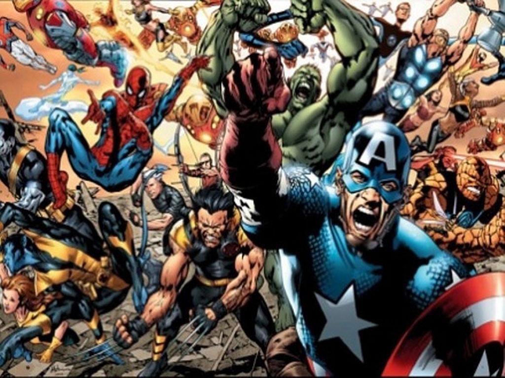 Free superhero wallpapers wallpaper cave - All marvel heroes wallpaper ...