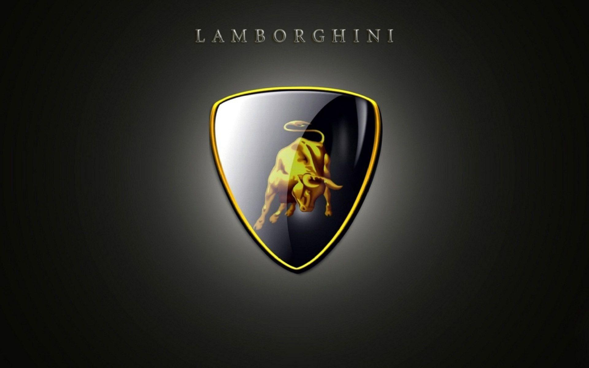 логотип lamborghini высокое качество обои