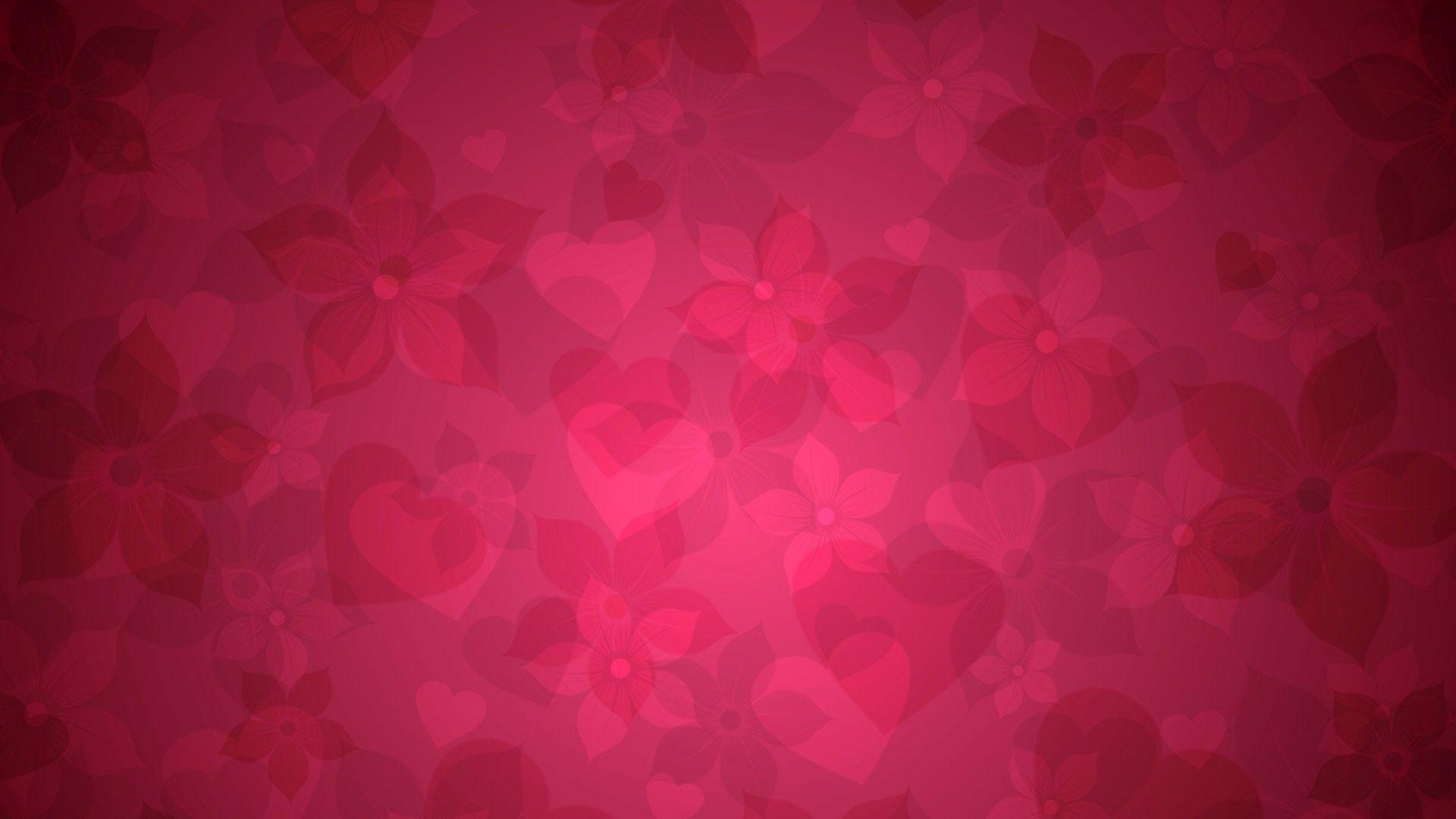 Hearts And Flowers Wallpapers