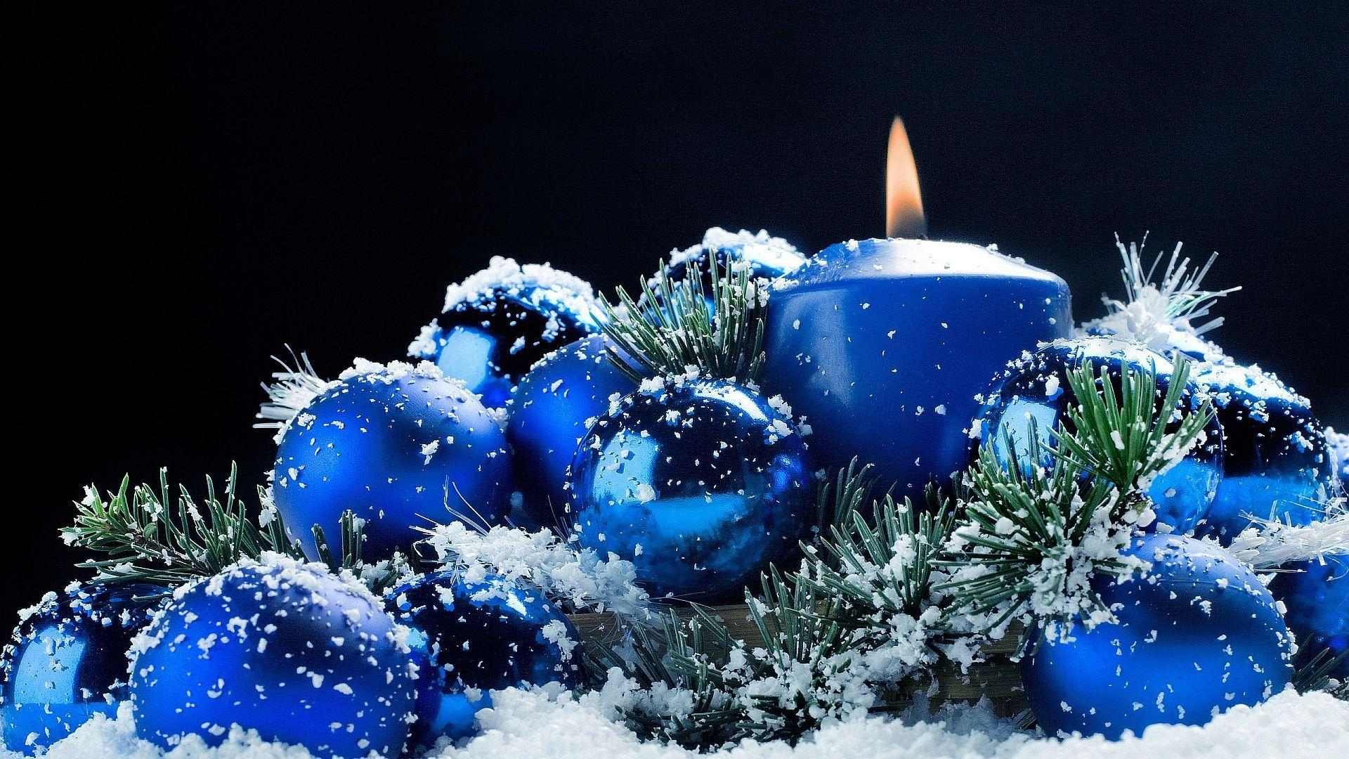 1920x1080 Christmas candle Wallpapers