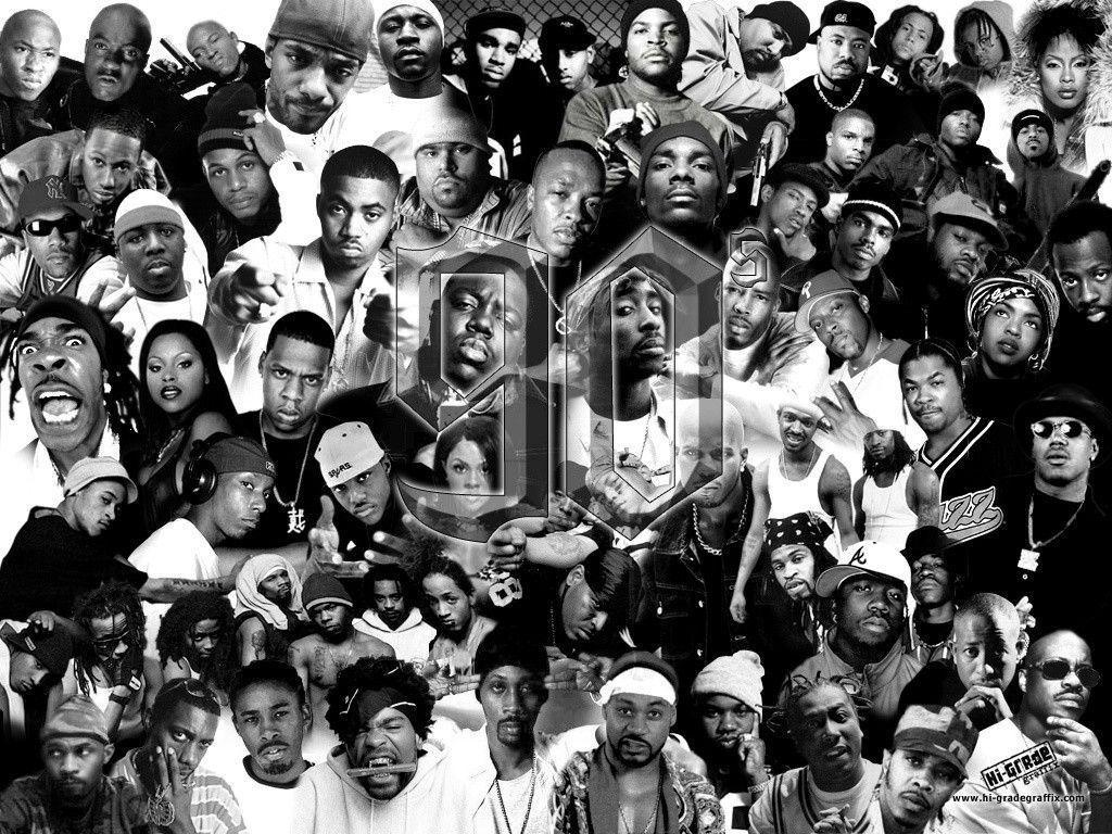 90 Great Rappers Rap Wallpaper