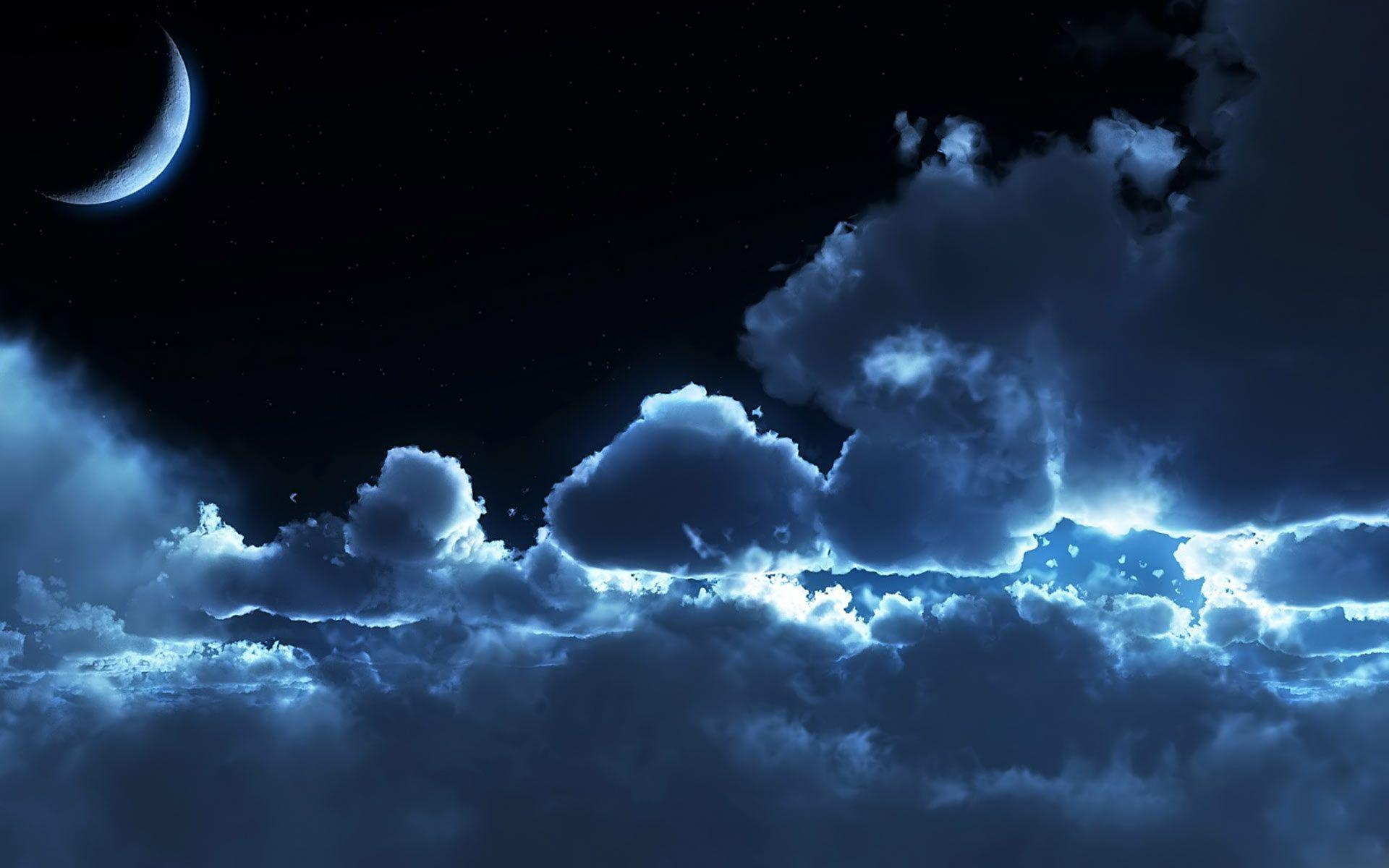 Image For > Night Sky Backgrounds Hd